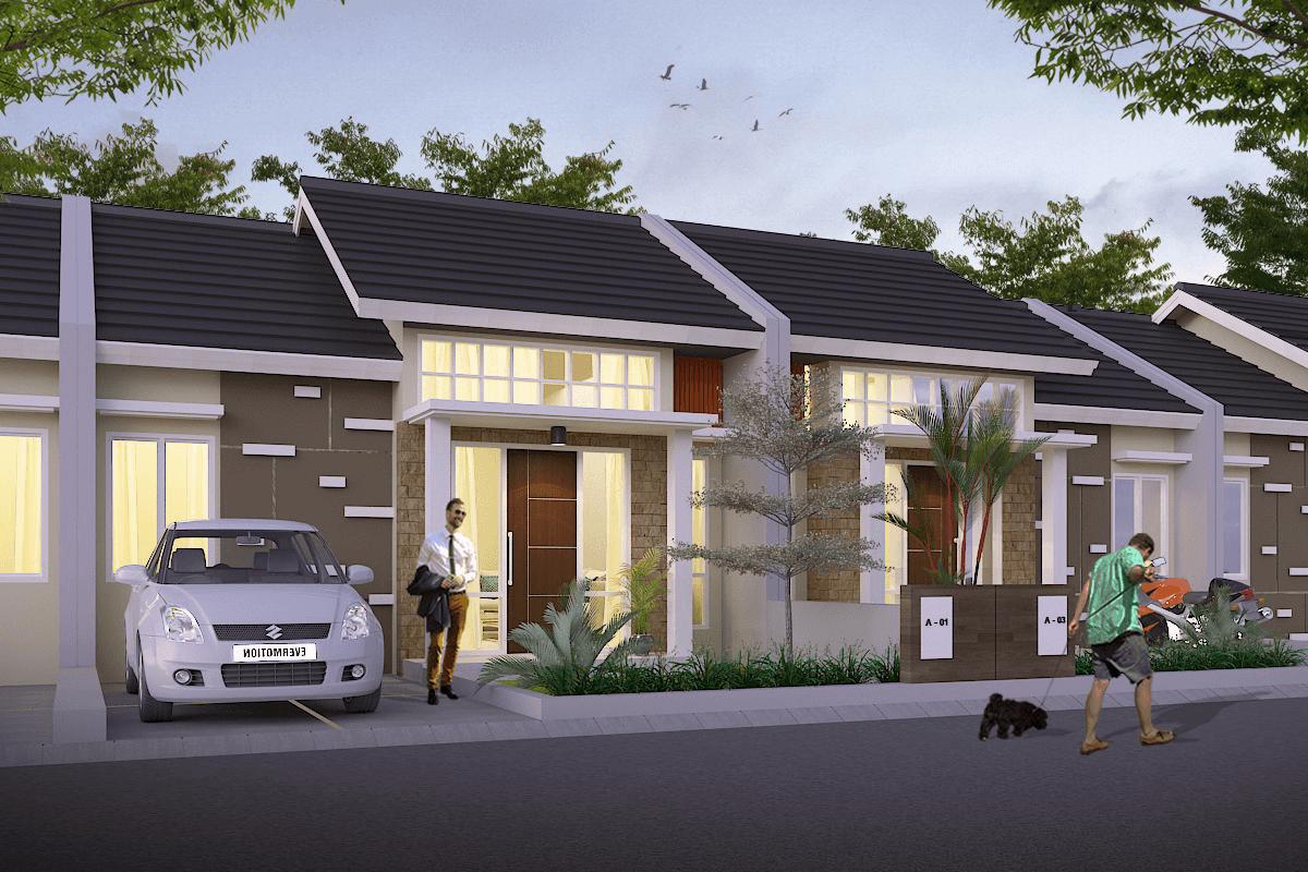 Ady-Studio Taktakan Hills View Serang, Banten, Indonesia Serang, Banten, Indonesia Ady-Studio-Taktakan-Hills-View  Tampak Depan Rumah Subsidi 65345