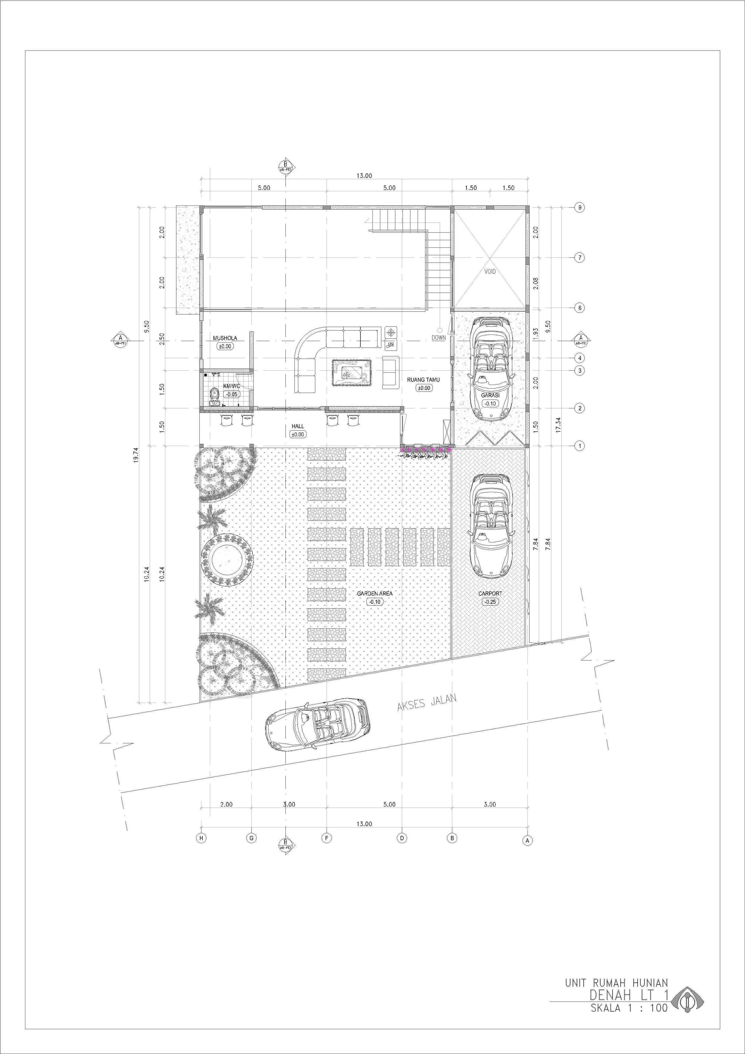 Ansitama Architecture Studio Rumah Hunian Bapak Hijri Jambi, Kota Jambi, Jambi, Indonesia Jambi, Kota Jambi, Jambi, Indonesia Ansitama-Architetcture-Studio-Rumah-Hunian-Bapak-Hijri   56254