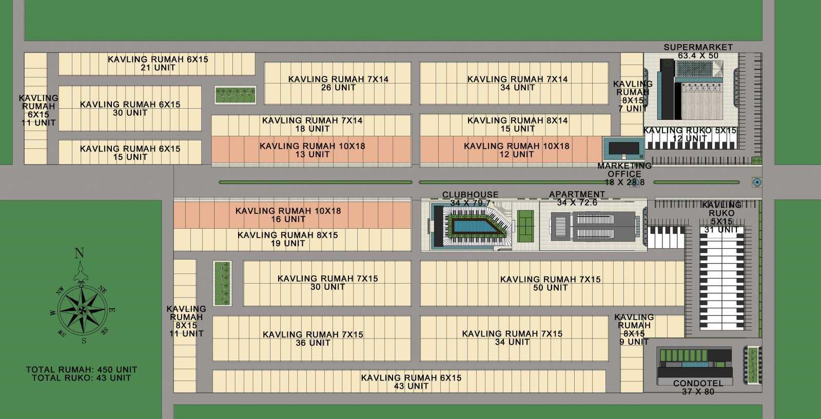 Aeternite Timika Development Masterplan Timika, Mimika Baru, Kabupaten Mimika, Papua, Indonesia Timika, Mimika Baru, Kabupaten Mimika, Papua, Indonesia Aeternite-Timika-Development-Masterplan   56502