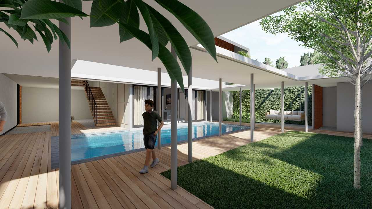 Raaj Gill Arsitek Terrace House Jakarta, Daerah Khusus Ibukota Jakarta, Indonesia Jakarta, Daerah Khusus Ibukota Jakarta, Indonesia Raaj-Gill-Arsitek-Terrace-House   74852