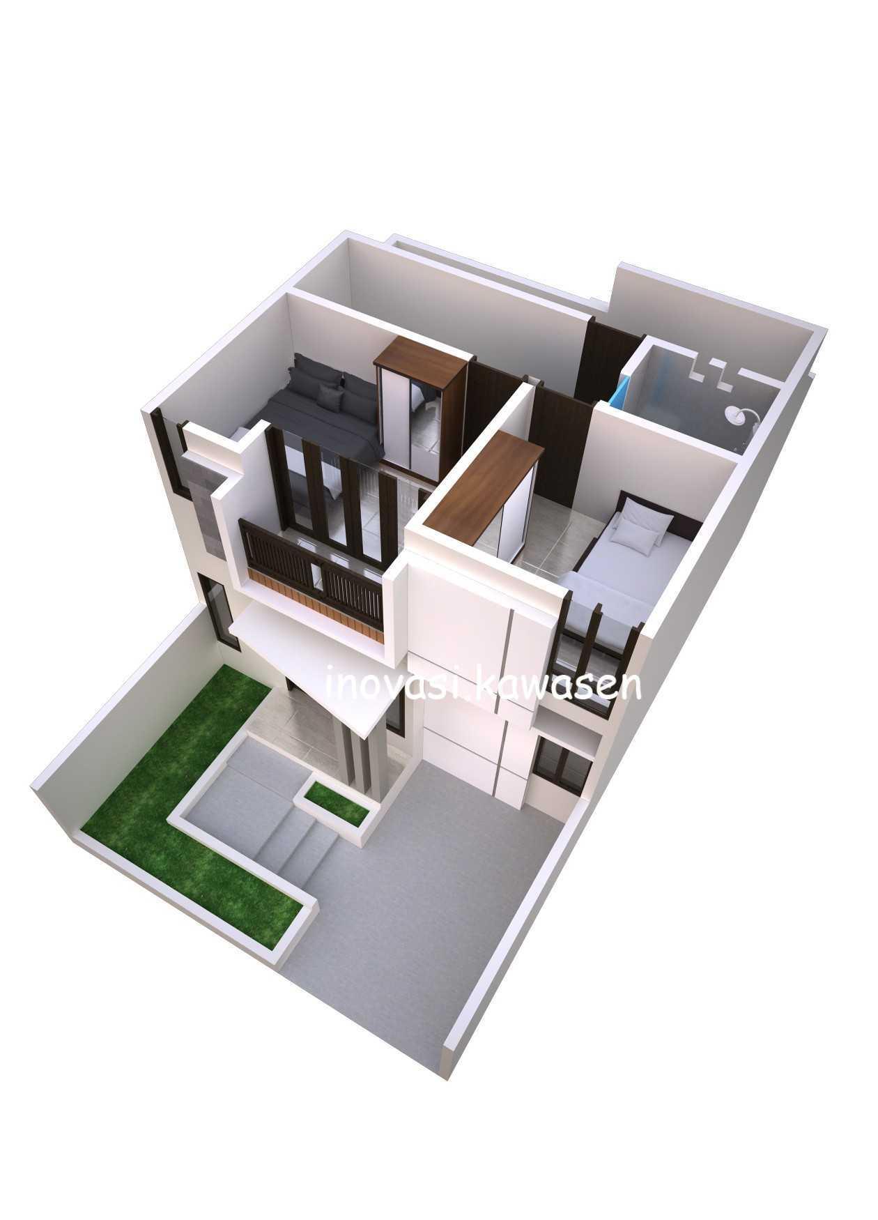 Inovasi Kawasen Renovasi Rumah Type 45 ( Desain ) Kota Depok, Jawa Barat, Indonesia Kota Depok, Jawa Barat, Indonesia Inovasi-Kawasen-Renovasi-Rumah-Type-45-Desain-   89837