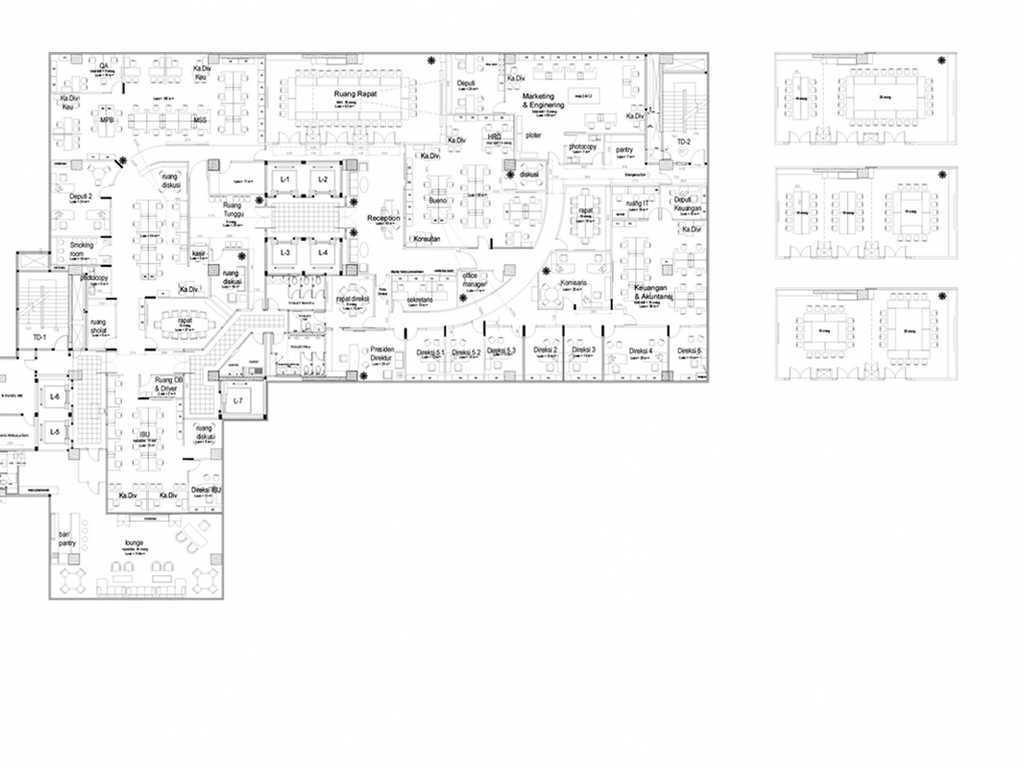 Astana Interior Slipi Office Jakarta, Daerah Khusus Ibukota Jakarta, Indonesia Jakarta, Daerah Khusus Ibukota Jakarta, Indonesia Astana-Interior-Slipi-Office   58003