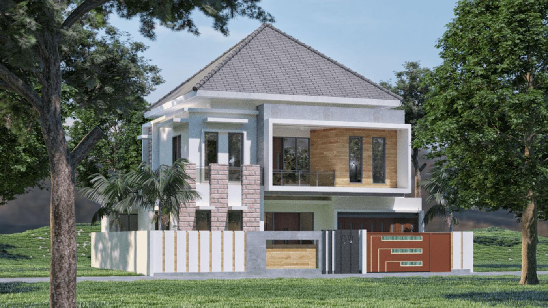 """Sinan Arsitek Desain Rumah 2 Lantai Palembang, Kota Palembang, Sumatera Selatan, Indonesia Palembang, Kota Palembang, Sumatera Selatan, Indonesia Sinan-Arsitek-Desain-Rumah-2-Lantai  <P><Span Style=""""font-Size: 10.5Pt; Line-Height: 115%; Font-Family: Akkurat_Lightregular, Serif;"""">Desain Rumah 2 Lantai Bapak Yose Rizal - Palembang</span></p> 117520"""