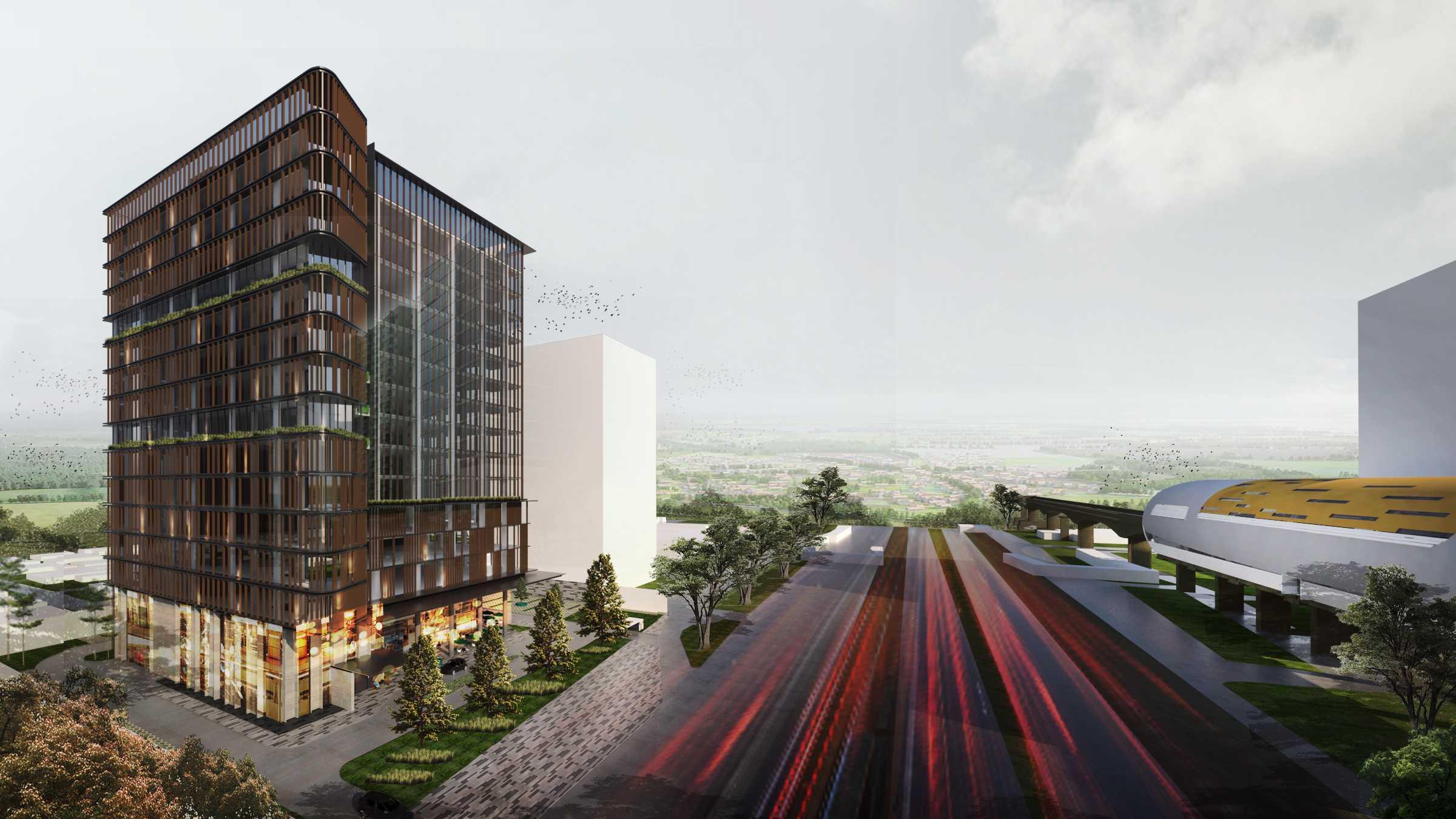 "Moi Architects Mt Office ""the Urban Canopy"" Jakarta, Daerah Khusus Ibukota Jakarta, Indonesia Jakarta, Daerah Khusus Ibukota Jakarta, Indonesia Moi-Architects-Mt-Office-The-Urban-Canopy   59031"