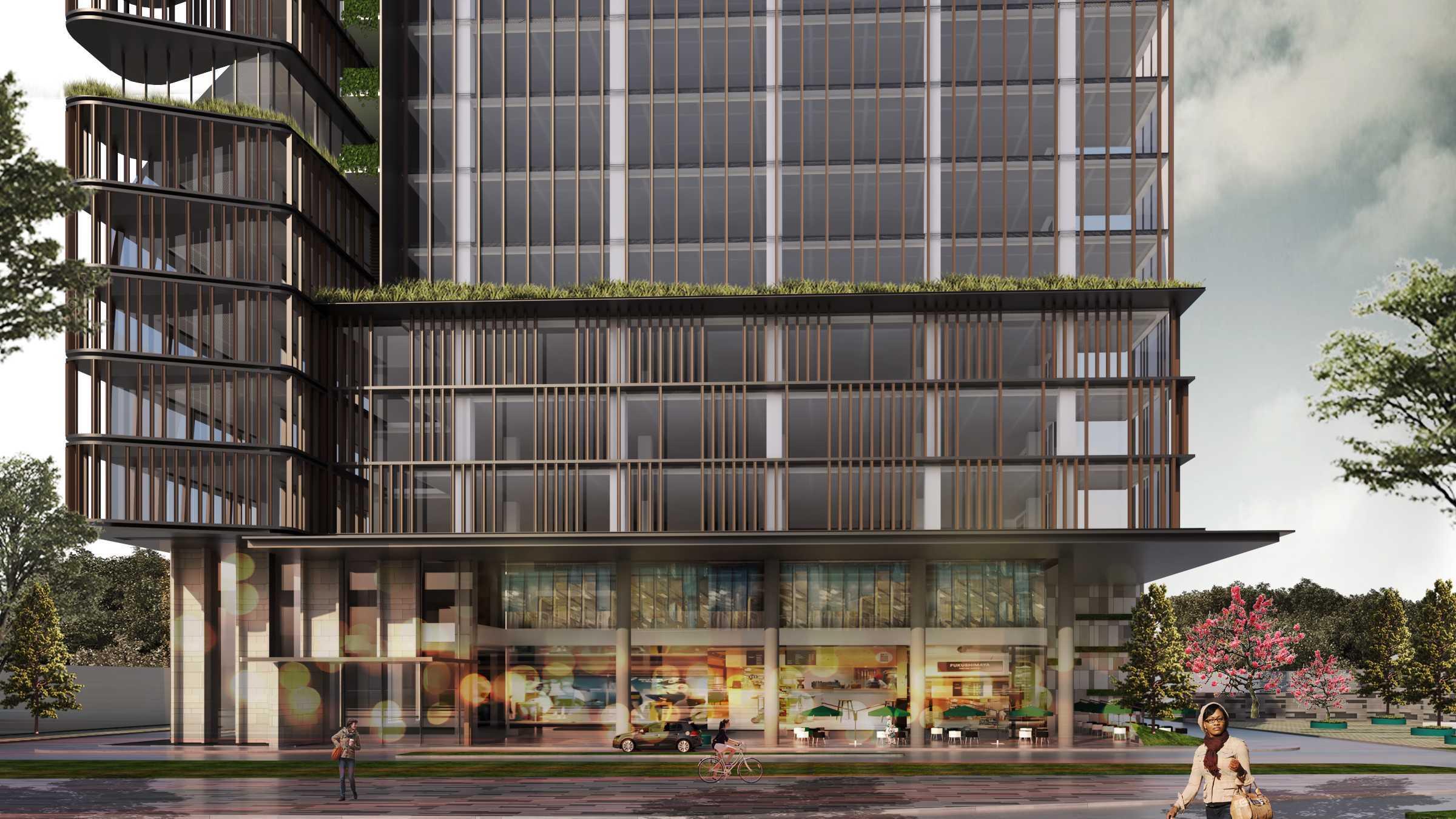 "Moi Architects Mt Office ""the Urban Canopy"" Jakarta, Daerah Khusus Ibukota Jakarta, Indonesia Jakarta, Daerah Khusus Ibukota Jakarta, Indonesia Moi-Architects-Mt-Office-The-Urban-Canopy   59033"