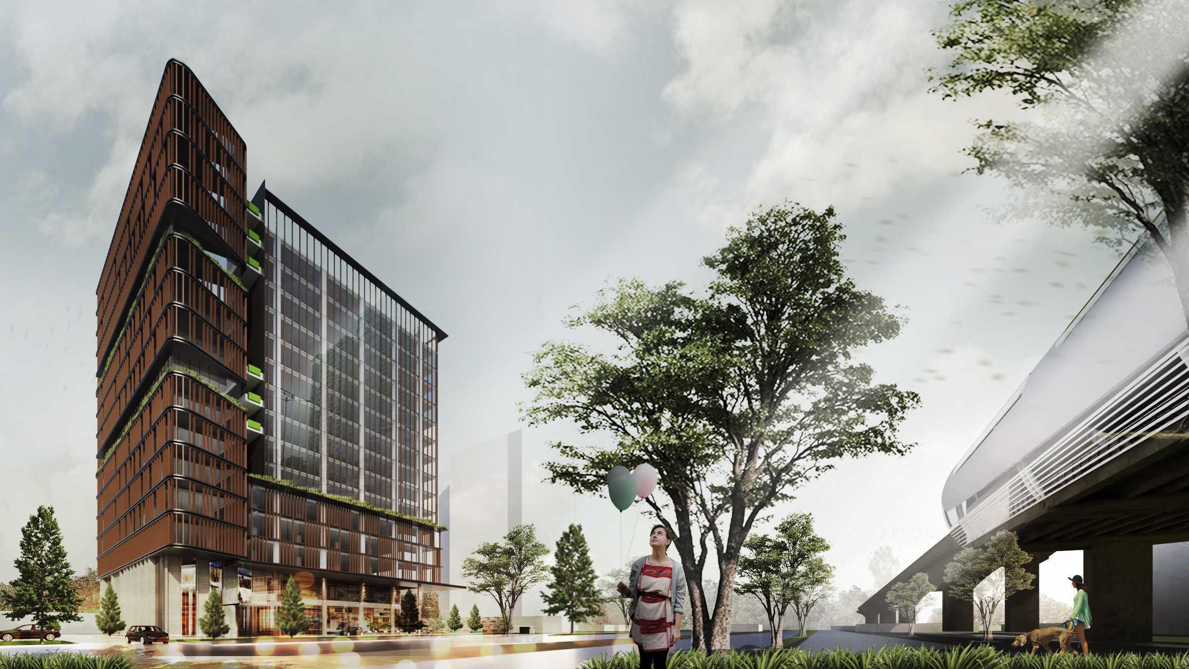 "Moi Architects Mt Office ""the Urban Canopy"" Jakarta, Daerah Khusus Ibukota Jakarta, Indonesia Jakarta, Daerah Khusus Ibukota Jakarta, Indonesia Moi-Architects-Mt-Office-The-Urban-Canopy   59034"