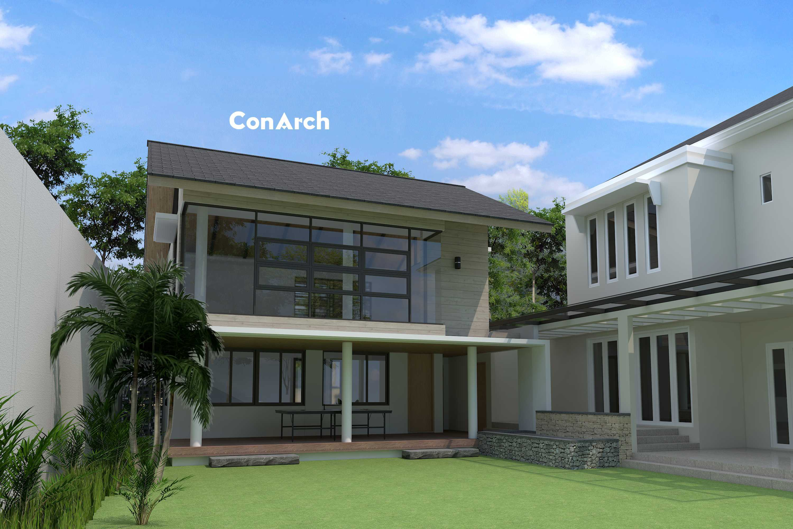 Conarch Studio A Simple House Office Yogyakarta, Kota Yogyakarta, Daerah Istimewa Yogyakarta, Indonesia Yogyakarta, Kota Yogyakarta, Daerah Istimewa Yogyakarta, Indonesia Minimalist House With Working Space   91043