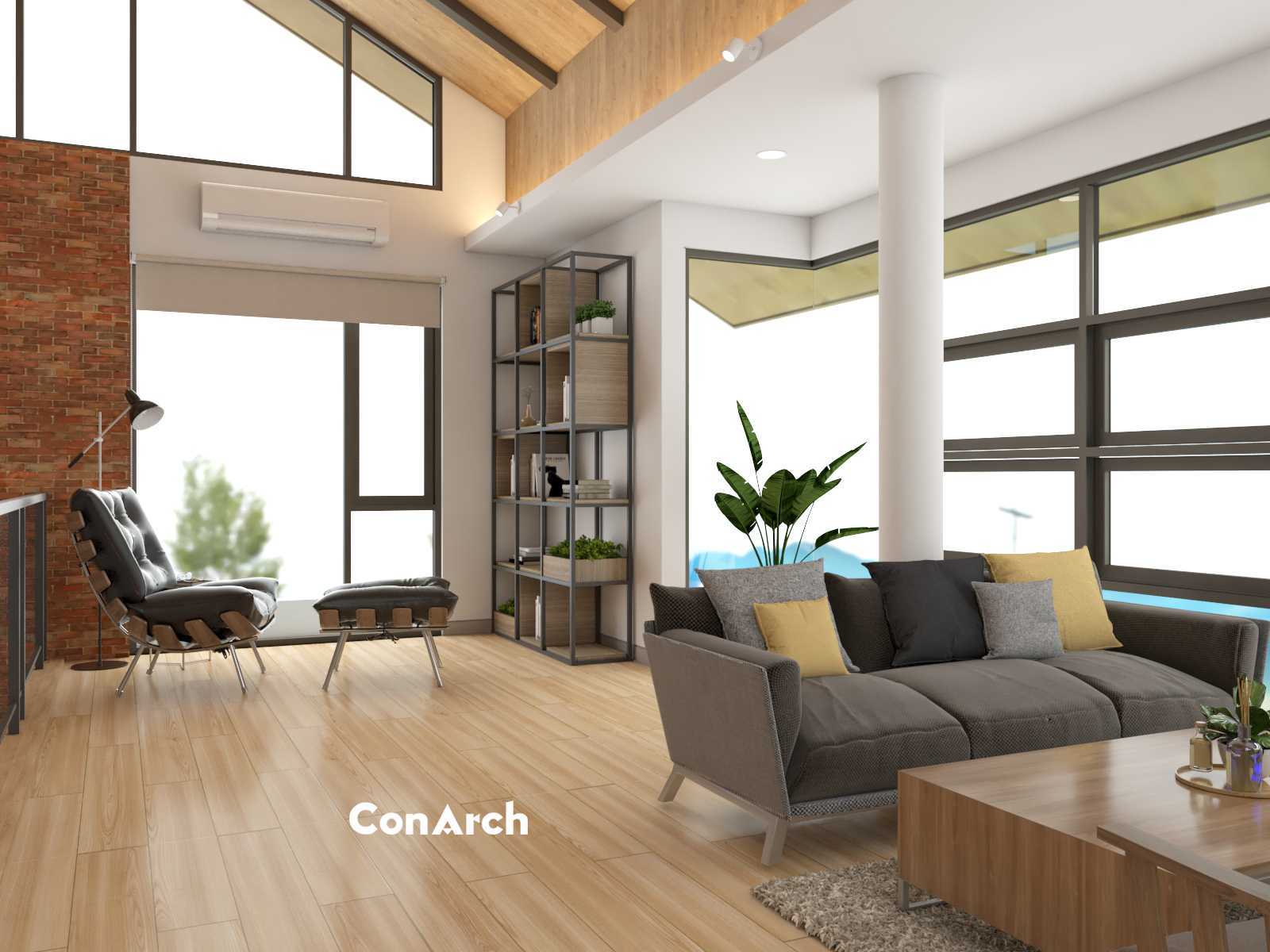 Conarch Studio A Simple House Office Yogyakarta, Kota Yogyakarta, Daerah Istimewa Yogyakarta, Indonesia Yogyakarta, Kota Yogyakarta, Daerah Istimewa Yogyakarta, Indonesia Conarch-Bangun-Sejahtera-A-Simple-House-Office   91046