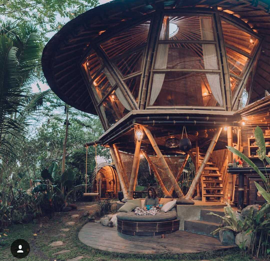 Studio Wna Hideout Beehive Glamping. Bali. Indonesia Selat, Kabupaten Karangasem, Bali, Indonesia Selat, Kabupaten Karangasem, Bali, Indonesia Studio-Wna-Hideout-Beehive-Glamping-Bali-Indonesia Contemporary <P>Cute Bamboo Gate With Natural Landscape&nbsp;surround&nbsp;</p> 63114