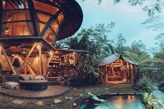 Studio Wna Hideout Beehive Glamping. Bali. Indonesia Selat, Kabupaten Karangasem, Bali, Indonesia Selat, Kabupaten Karangasem, Bali, Indonesia Studio-Wna-Hideout-Beehive-Glamping-Bali-Indonesia  <P>Natural Landscape With Beautiful River Beside</p> 63116