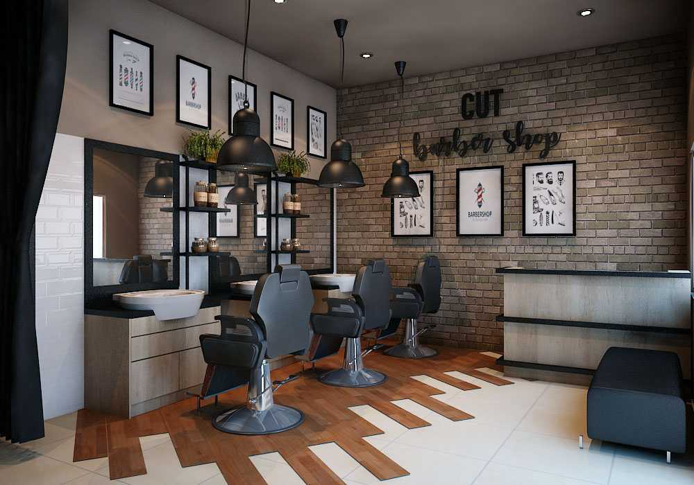 Aditya Wira Hardi Design Interior Barbershop Kabupaten Sidoarjo, Jawa Timur, Indonesia Kabupaten Sidoarjo, Jawa Timur, Indonesia Aditya-Wira-Hardi-Design-Interior-Barbershop   66087
