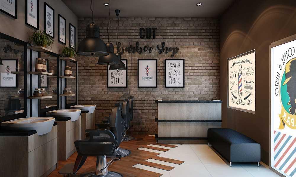 Aditya Wira Hardi Design Interior Barbershop Kabupaten Sidoarjo, Jawa Timur, Indonesia Kabupaten Sidoarjo, Jawa Timur, Indonesia Aditya-Wira-Hardi-Design-Interior-Barbershop   66088