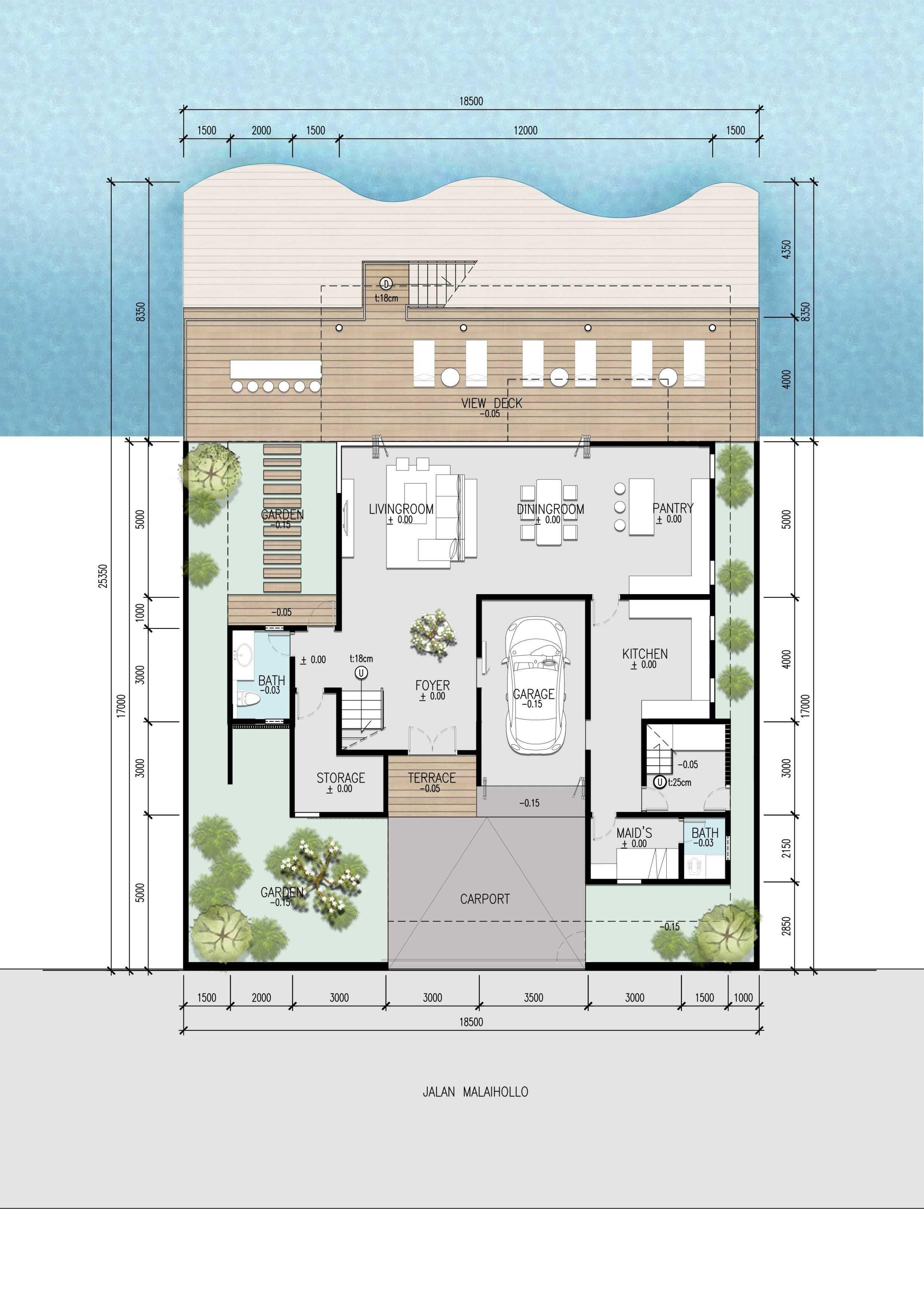 Baskara Design And Planning Malaiholo Residence Pulau Ambon, Maluku, Indonesia Pulau Ambon, Maluku, Indonesia Baskara-Design-And-Planning-Malaiholo-Residence   67073