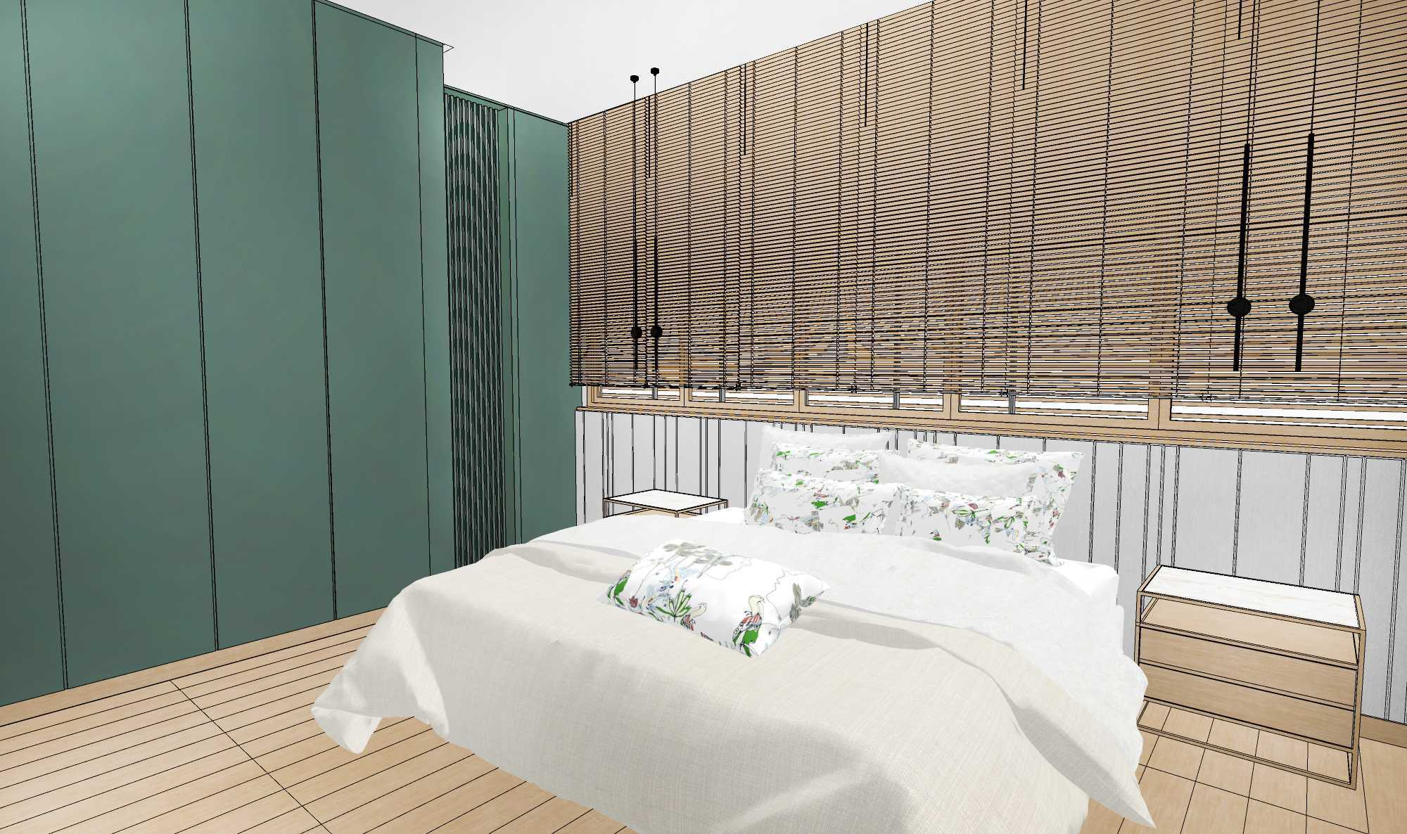 Aksioma Design & Construction D + T House Jakarta Selatan, Kota Jakarta Selatan, Daerah Khusus Ibukota Jakarta, Indonesia Jakarta Selatan, Kota Jakarta Selatan, Daerah Khusus Ibukota Jakarta, Indonesia D + T House Master Bedroom Minimalist  78575