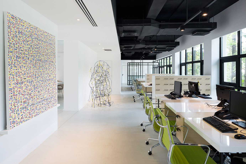 Bej.interior Modern Minimalist Office Jakarta, Daerah Khusus Ibukota Jakarta, Indonesia Jakarta, Daerah Khusus Ibukota Jakarta, Indonesia Bejinterior-Modern-Office Minimalist <P>Staff Area</p> 80480