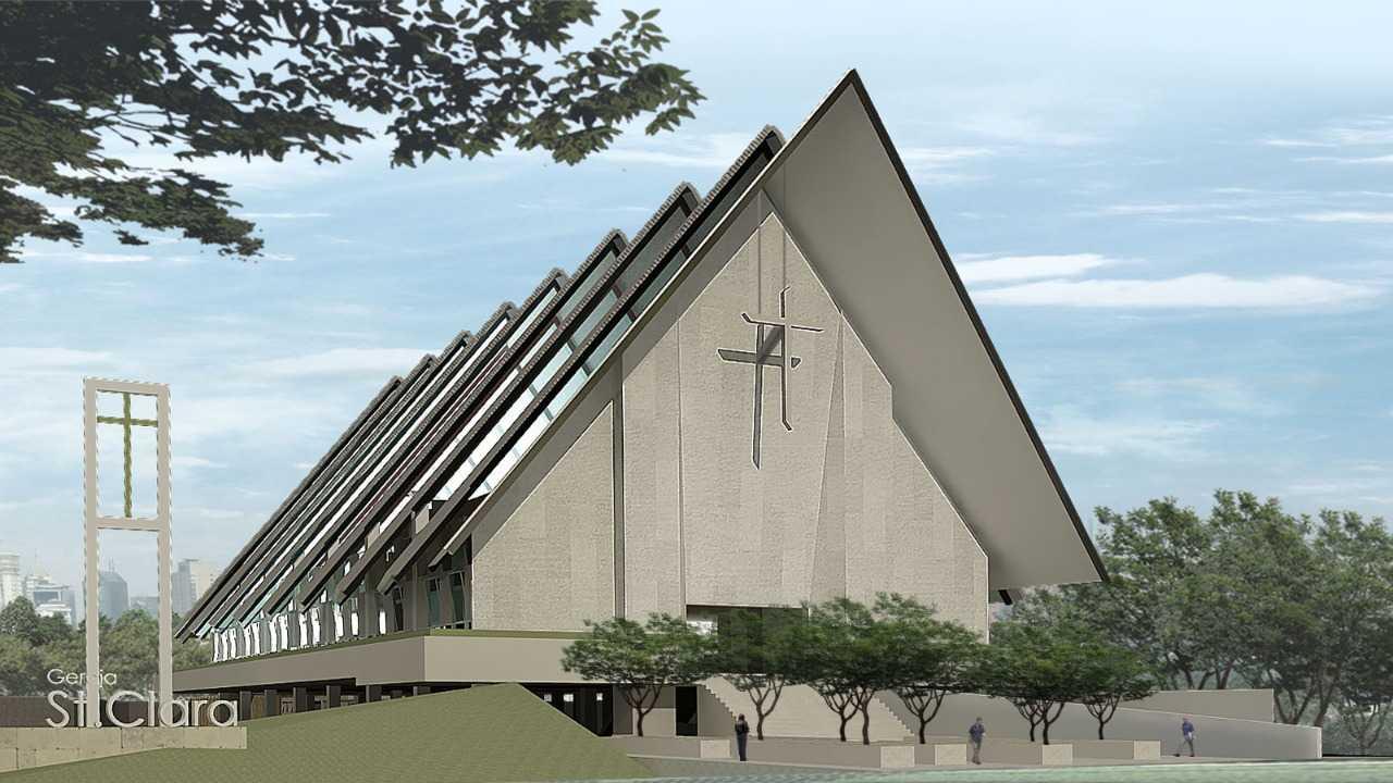 Pt. Atelier Una Indonesia St Clara Church Bekasi, Tambelang, Bekasi, Jawa Barat, Indonesia Bekasi, Tambelang, Bekasi, Jawa Barat, Indonesia Pt-Atelier-Una-Indonesia-St-Clara-Church   57947