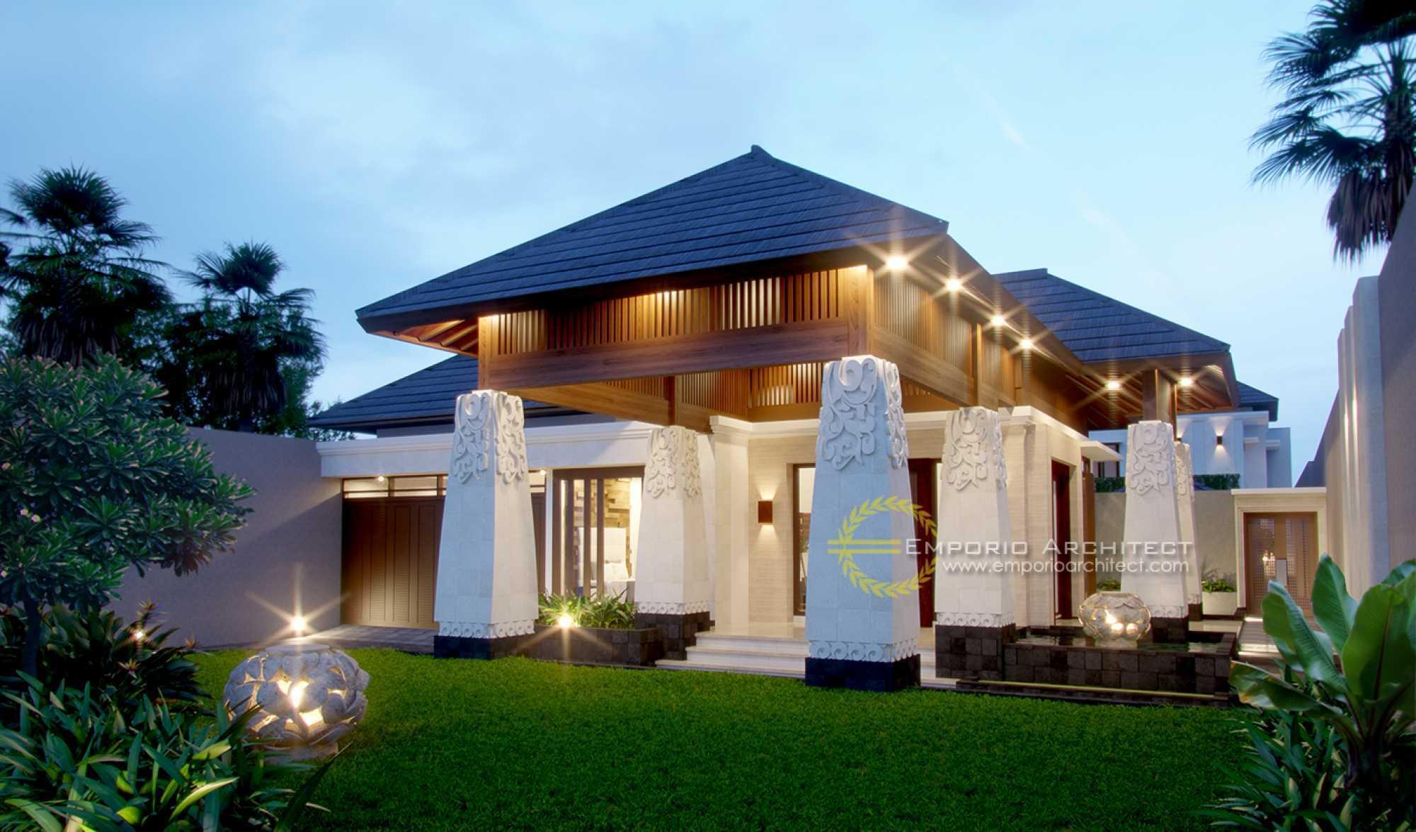 Emporio Architect Desain Rumah Villa Bali Tropis 239 @ Jakarta Jakarta, Daerah Khusus Ibukota Jakarta, Indonesia Jakarta, Daerah Khusus Ibukota Jakarta, Indonesia Emporio-Architect-Desain-Rumah-654-M2 Tropical  73115