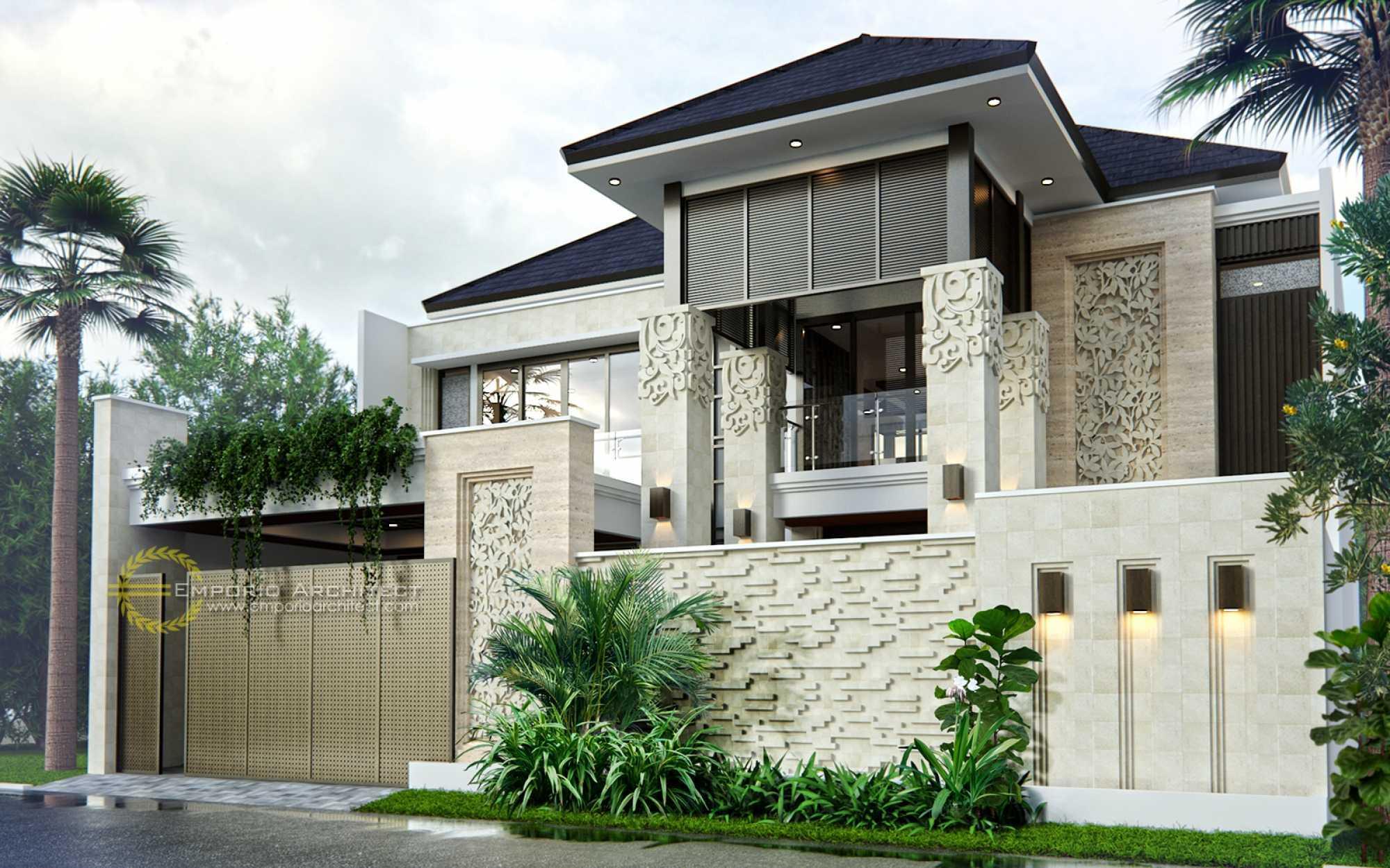 Photo Emporio-architect-desain-rumah-villa-bali-tropis-270-cibubur-jakarta-timur  Desain Rumah Villa Bali Tropis 270 @ Cibubur, Jakarta Timur 3 Desain  Arsitek Oleh Emporio Architect - ARSITAG