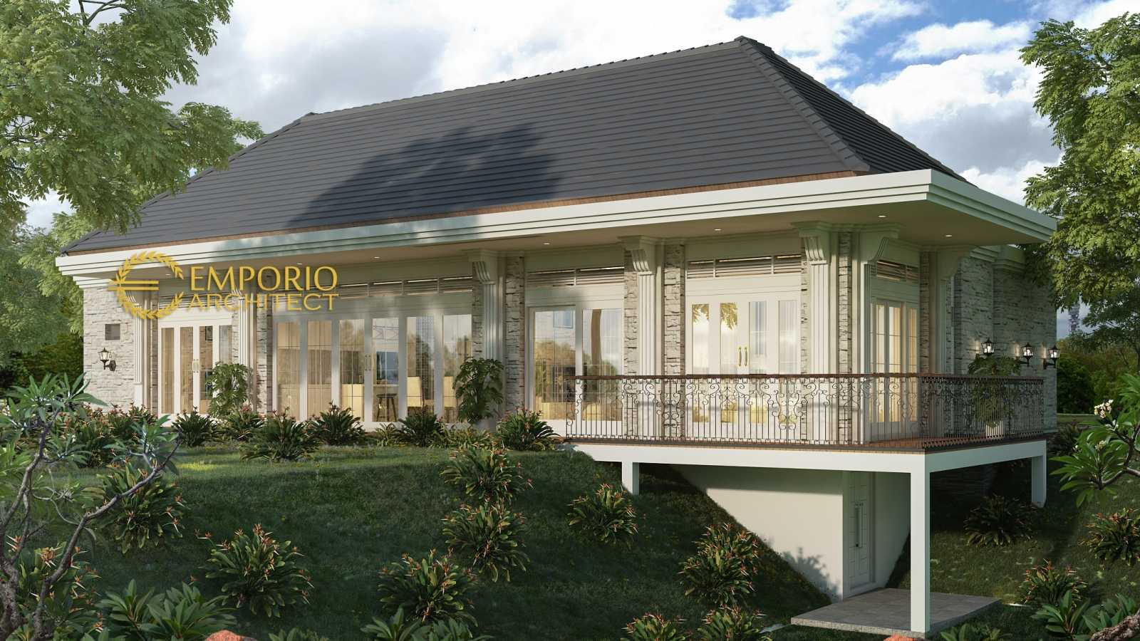 Emporio Architect Desain Rumah Villa Bali Tropis 576 @ Sumatera Barat Sumatera Barat, Indonesia Sumatera Barat, Indonesia Emporio-Architect-Desain-Rumah-Villa-Bali-Tropis-576-Sumatera-Barat   74405