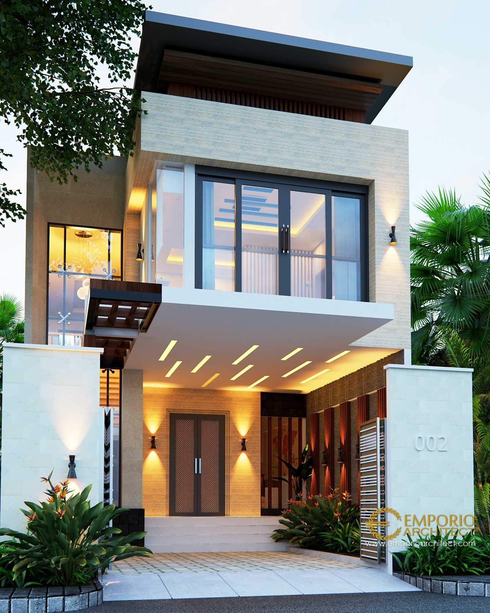 Emporio Architect Desain Rumah Modern Tropis 484 @ Sumatera Utara Sumatera Utara, Indonesia Sumatera Utara, Indonesia Emporio-Architect-Desain-Rumah-Modern-Tropis-484-Sumatera-Utara Tropical  77230