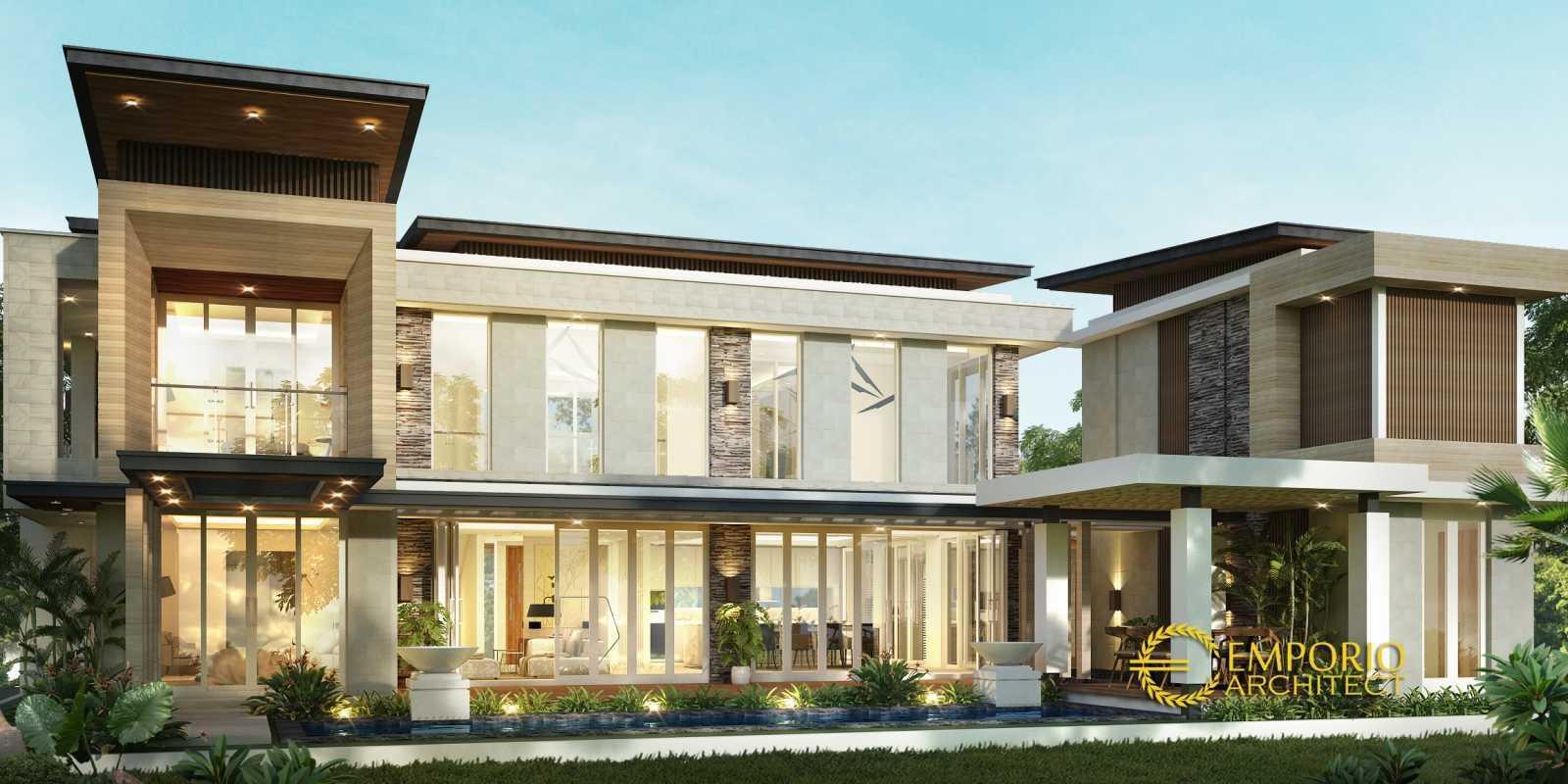 Emporio Architect Desain Rumah Modern Tropis 509 @ Bogor Bogor, Jawa Barat, Indonesia Bogor, Jawa Barat, Indonesia Emporio-Architect-Desain-Rumah-Modern-Tropis-509-Bogor   77568