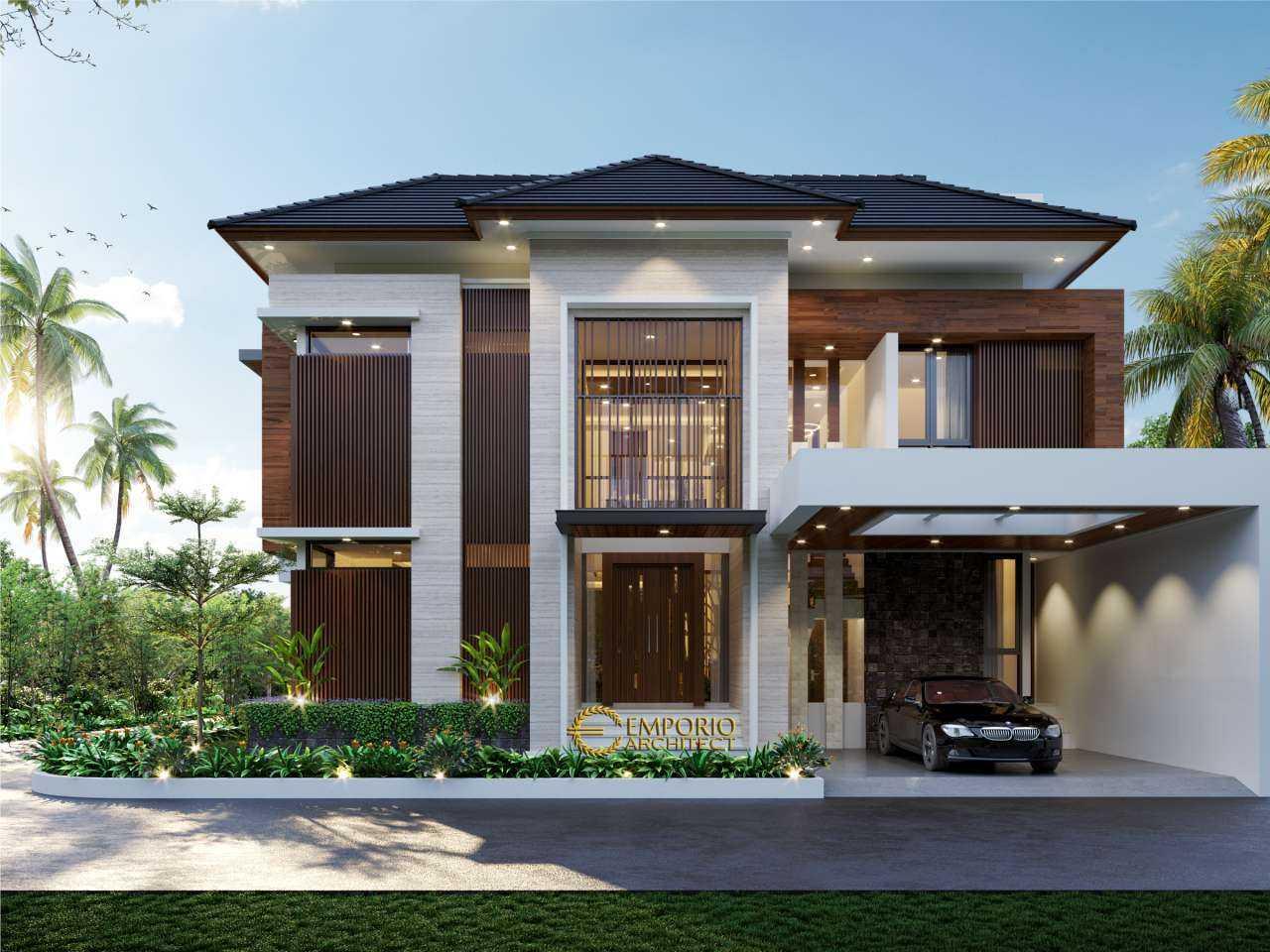 Emporio Architect Jasa Arsitek Bekasi Desain Rumah Modern 2.5 Lantai 768 @ Cibubur, Bekasi Jatimulya, Kec. Tambun Sel., Bekasi, Jawa Barat 17510, Indonesia Jatimulya, Kec. Tambun Sel., Bekasi, Jawa Barat 17510, Indonesia Emporio-Architect-Jasa-Arsitek-Bekasi-Desain-Rumah-Modern-25-Lantai-768-Cibubur-Bekasi Modern  94418
