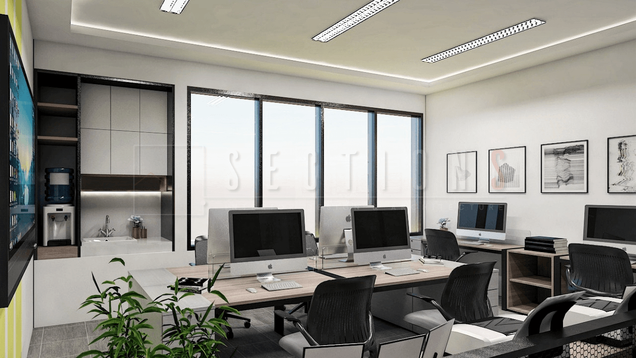 Sections Design & Architecture Textile Company Office Project (Office & Working Area) Tangerang, Kota Tangerang, Banten, Indonesia Tangerang, Kota Tangerang, Banten, Indonesia Sections-Design-Architecture-Contemporary-Lobby-Minimalist-Workspace   92287