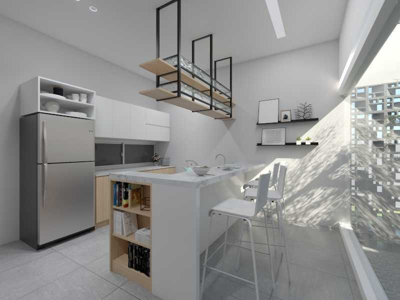 Sections Design & Architecture Minimalist  Kitchen Project (Mrs Irma) Bogor, Jawa Barat, Indonesia Bogor, Jawa Barat, Indonesia Sections-Design-Architecture-Private-Residential   86951