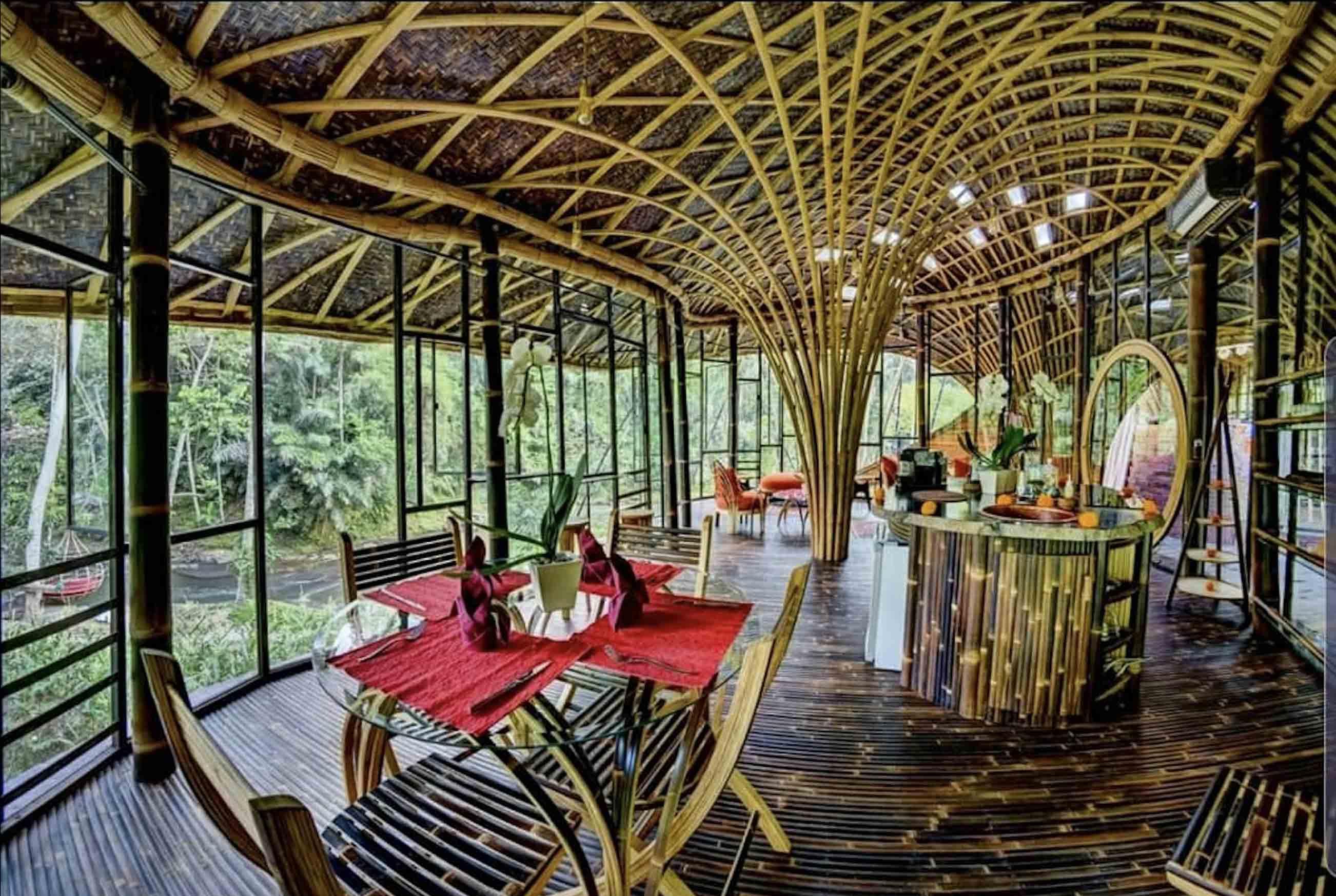 Agung Budi Raharsa   Architecture & Engineering Riverbend Bamboo House - Bali Bali, Indonesia Bali, Indonesia Agung-Budi-Raharsa-Riverbend-House-Bali   88714
