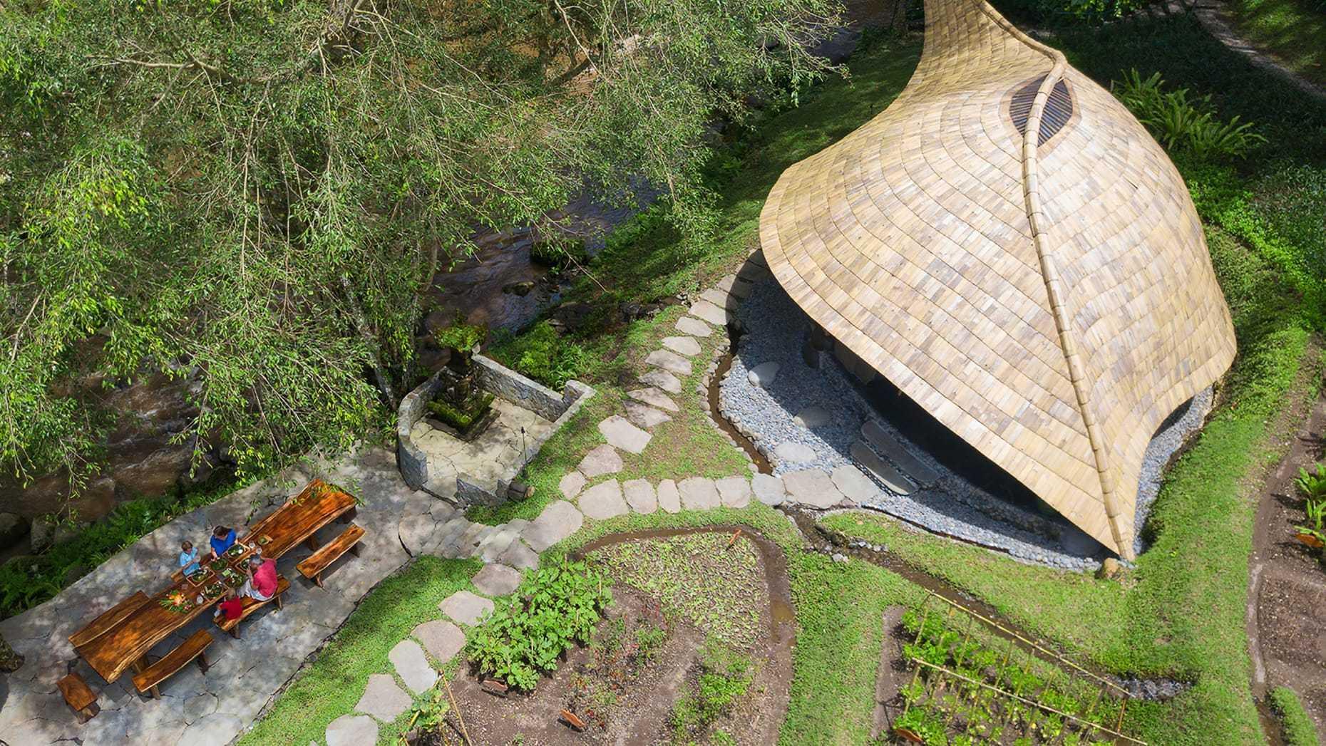 Agung Budi Raharsa   Architecture & Engineering Sokasi Bamboo Cooking Class / School - Bali Bali, Indonesia Bali, Indonesia Elevation   88746
