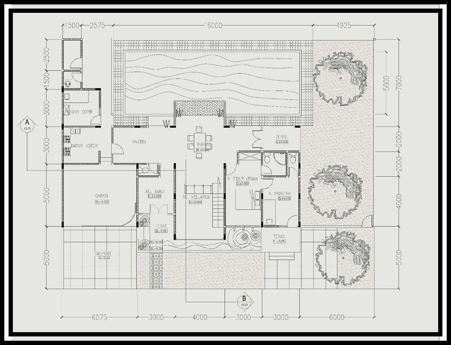 Ideall Design Rumah Klinik Dokter Kontemporer Padang, Kota Padang, Sumatera Barat, Indonesia Padang, Kota Padang, Sumatera Barat, Indonesia Ideall-Design-When-A-Design-Idea-Becomes-Ideal-Design-For-All-Rumah-Klinik-Kontemporer   114203