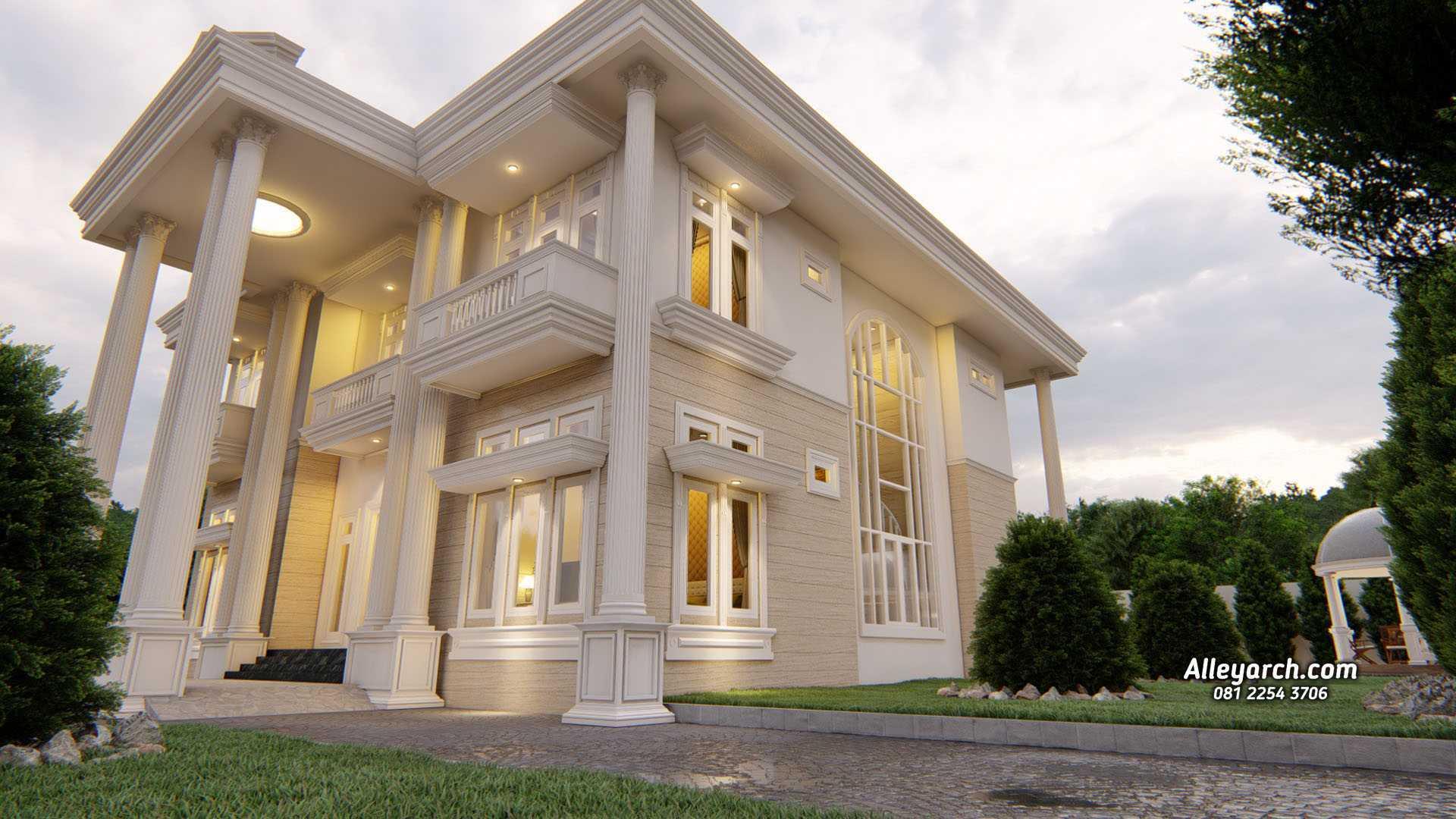Photo Alleyarch Desain Rumah Classic Mewah 2 Lantai Jasa Arsitek Semarang Desain Rumah Classic Mewah 2 Lantai Di Semarang 4 Desain Arsitek Oleh Alleyarch Arsitag