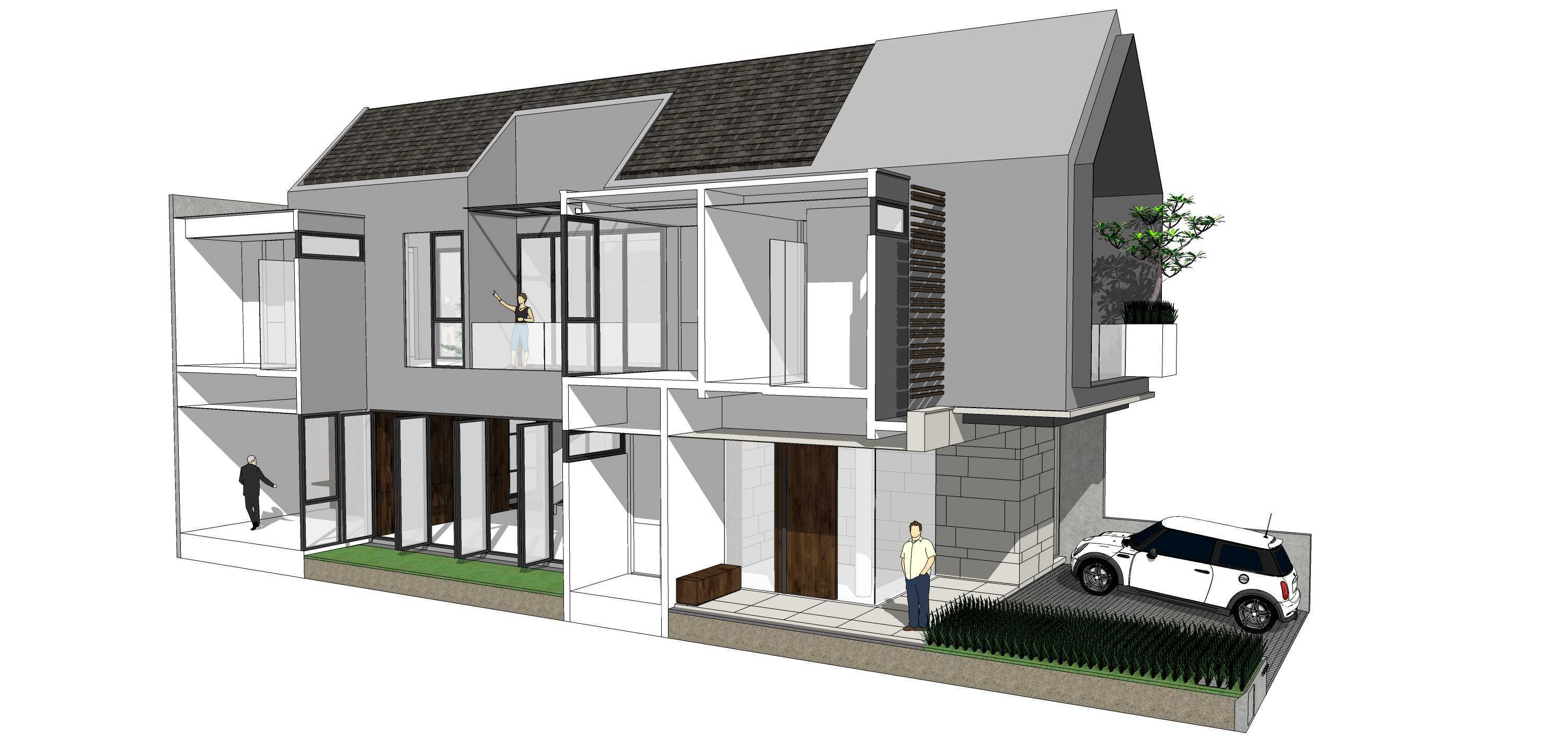 Simple Projects Architecture 'hhh' House Surabaya, Kota Sby, Jawa Timur, Indonesia  Simple-Projects-Architecture-Hhh-House   75098