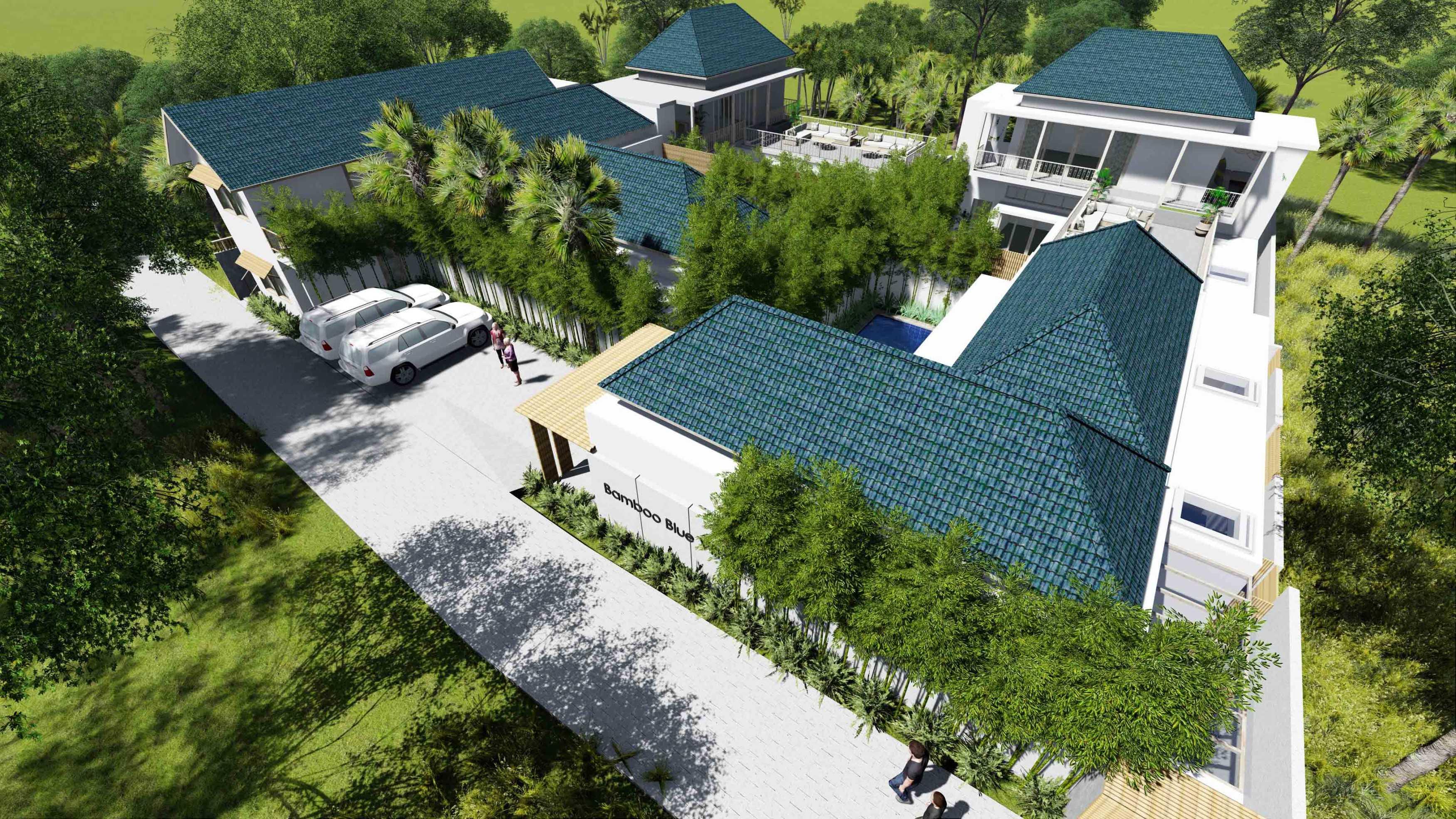 Revan Teggar Bamboo Blue Villa Bali, Indonesia Bali, Indonesia Masterplan Contemporary  107266