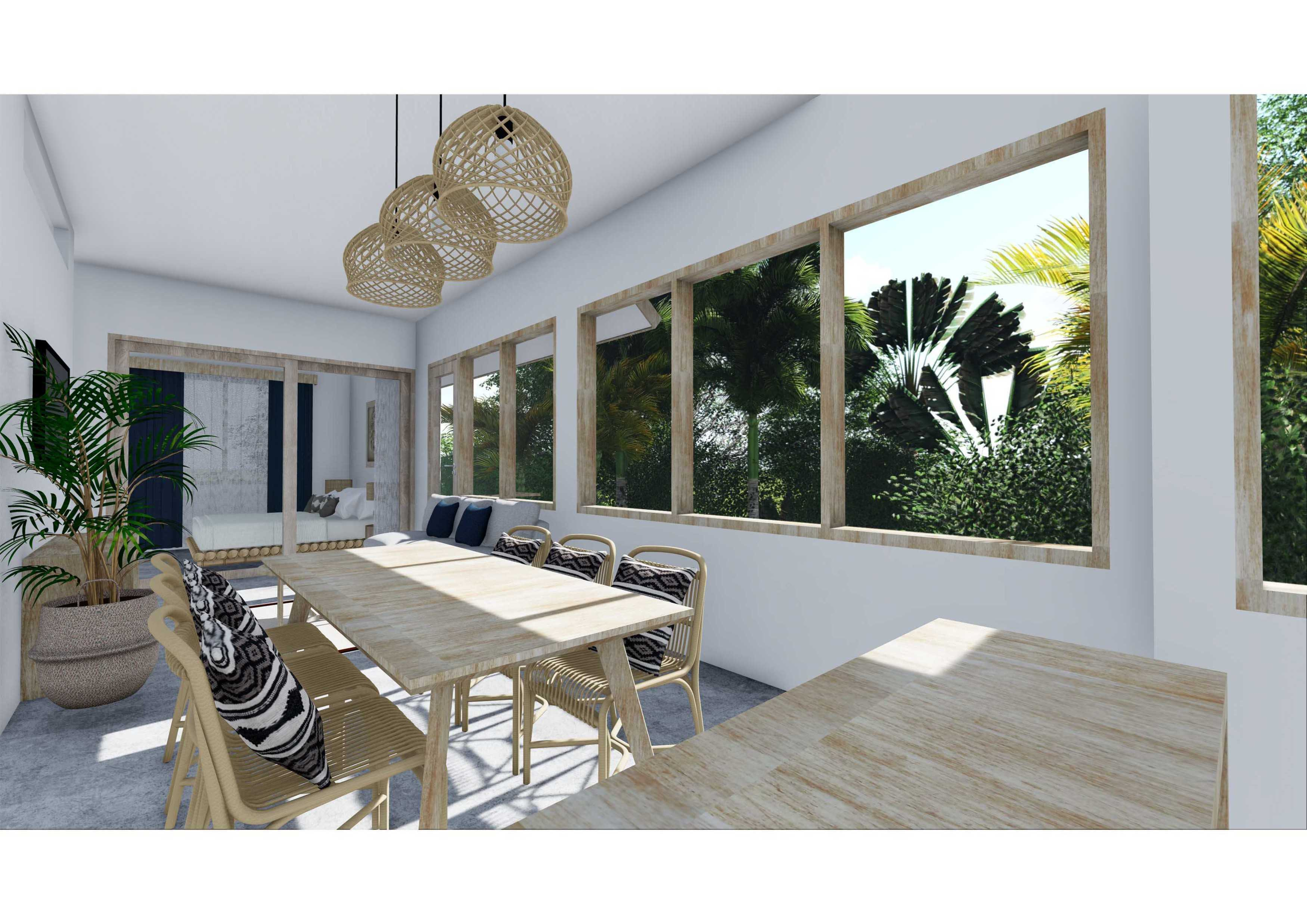 Revan Teggar Bamboo Blue Villa Bali, Indonesia Bali, Indonesia 1 Bedroom Studio Contemporary  107271
