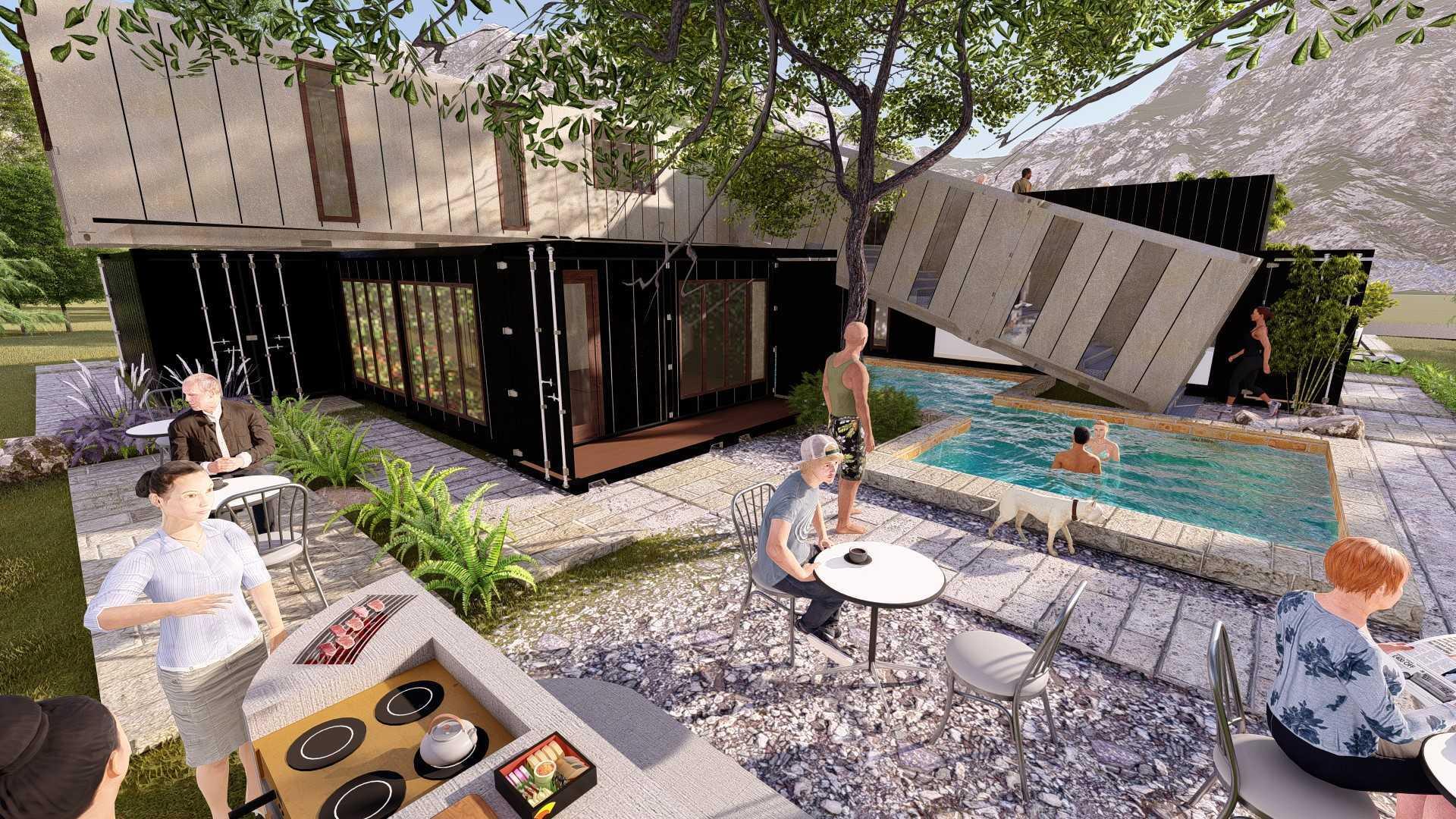 Rasi.o Arsitektur Studio Box2Box Container Villa Indonesia Indonesia Rasio-Arsitektur-Studio-Box2Box-Container-Villa   127546
