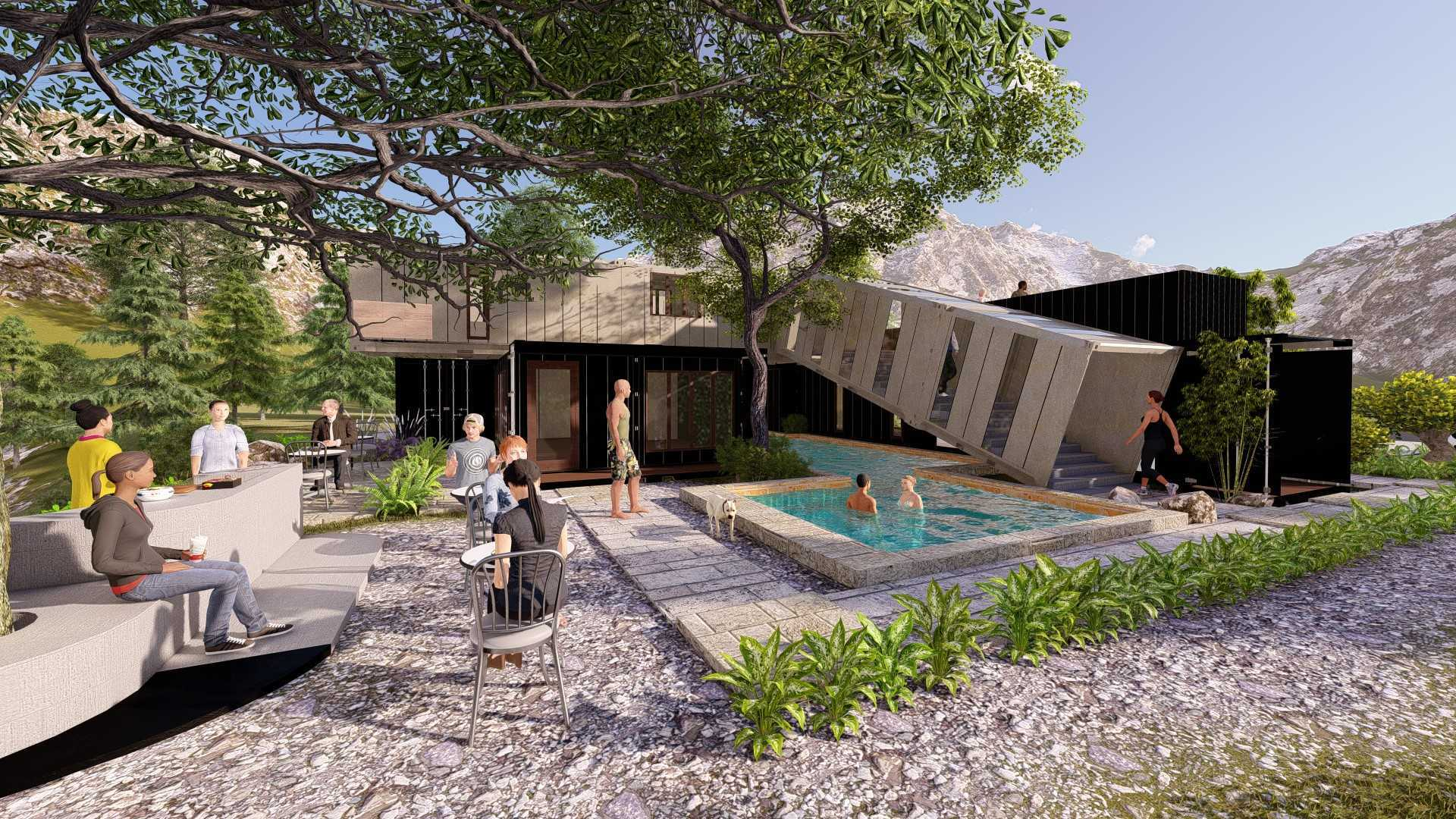 Rasi.o Arsitektur Studio Box2Box Container Villa Indonesia Indonesia Rasio-Arsitektur-Studio-Box2Box-Container-Villa   127551