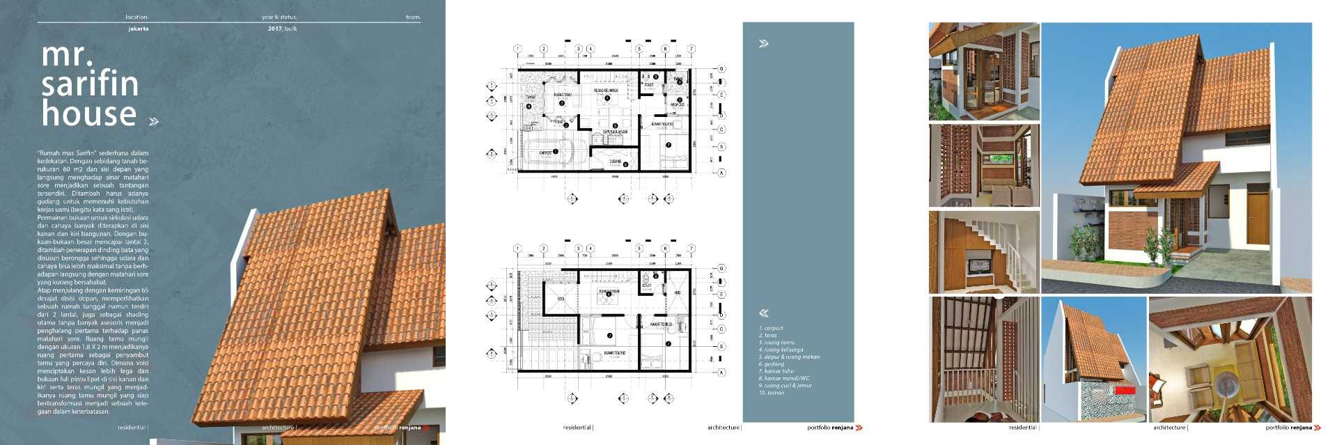 Renjana Mr. Sarifin House Kec. Ciledug, Kota Tangerang, Banten, Indonesia Kec. Ciledug, Kota Tangerang, Banten, Indonesia Renjana-Mr-Sarifin-House   99606