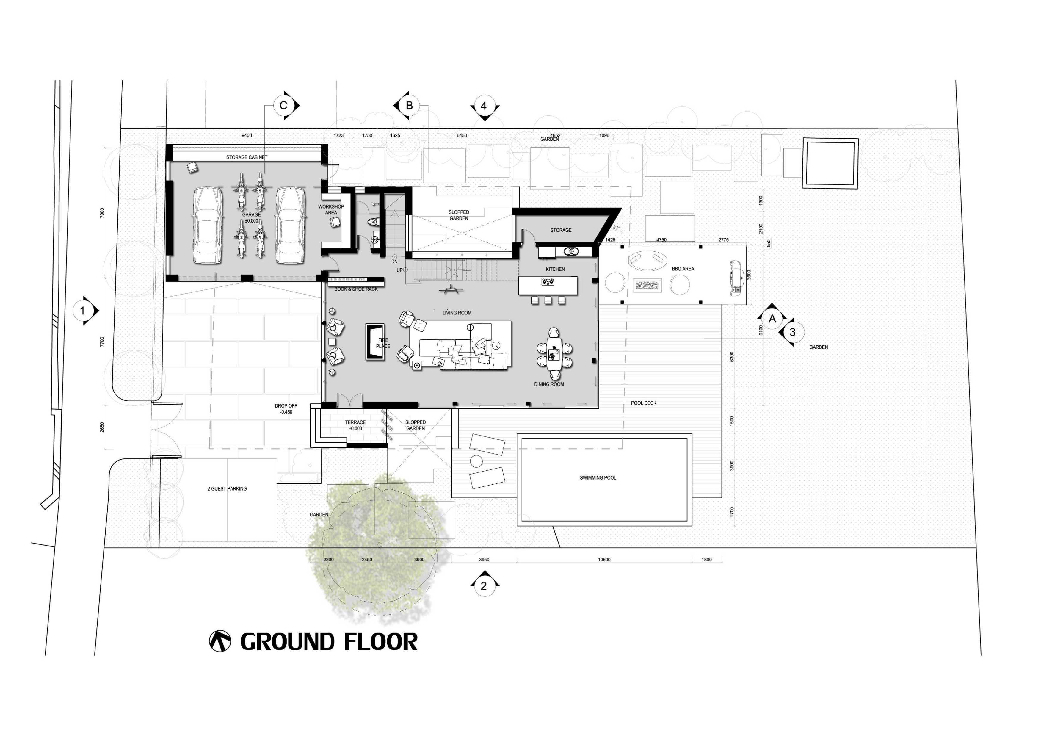 Bral Architect Alpen House In Germany 46519 Alpen, Jerman 46519 Alpen, Jerman Bral-Architect-Alpen-House-In-Germany   99900