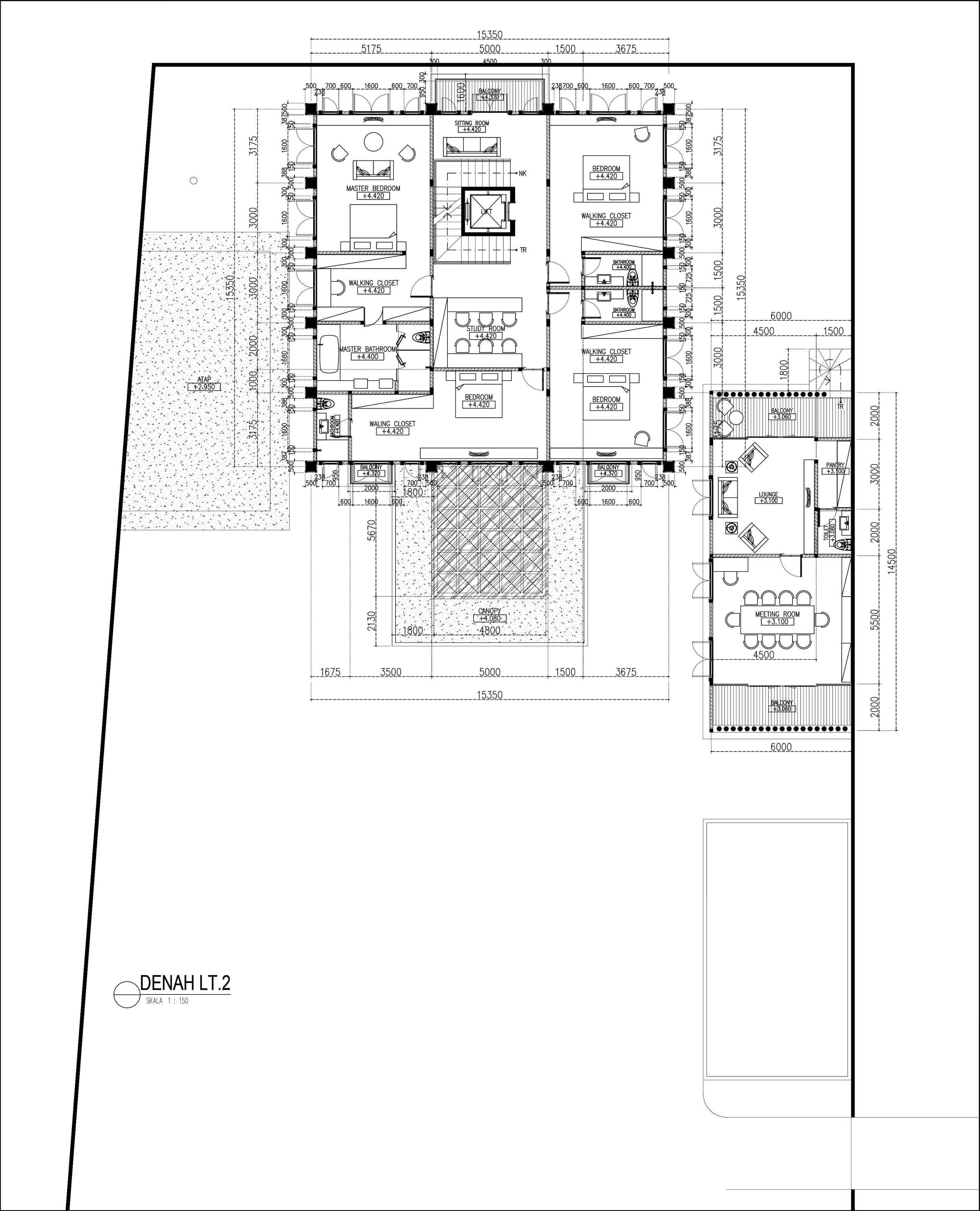 Mahastudio & Partner Hidden Palace House Bogor, Jawa Barat, Indonesia Bogor, Jawa Barat, Indonesia Mahastudio-Partner-Hidden-Palace-House Klasik  55943