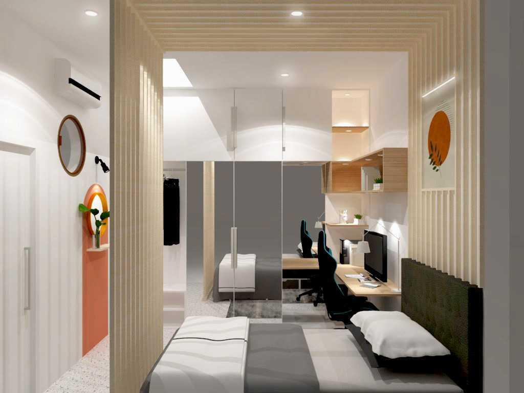 Giesmart Interior Design Of Zeesica Studio Bedroom Jakarta Selatan, Kota Jakarta Selatan, Daerah Khusus Ibukota Jakarta, Indonesia Jakarta Selatan, Kota Jakarta Selatan, Daerah Khusus Ibukota Jakarta, Indonesia Gie-Smart-Interior-Design-Of-Zeesica-Studio-Bedroom   135131