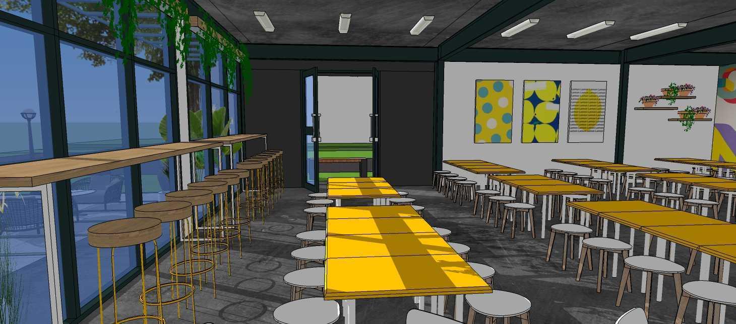 Ar Workshop Gmf - Food Court And Co Working Space Tangerang, Kota Tangerang, Banten, Indonesia Tangerang, Kota Tangerang, Banten, Indonesia Rifan-Athariq-Nugraha-Gmf-Food-Court-And-Co-Working-Space  Facade Banguna 69477
