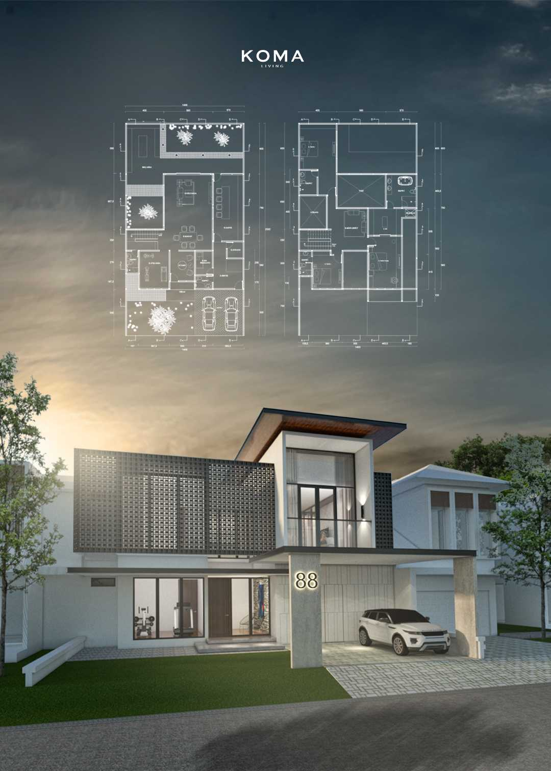 Koma Bs House Jl. Jalur Sutera No.17, Kunciran, Pinang, Kota Tangerang, Banten 15143, Indonesia Jl. Jalur Sutera No.17, Kunciran, Pinang, Kota Tangerang, Banten 15143, Indonesia Koma-Bs-House Contemporary Bs House Located At Alam Sutera, Tangerang, Indonesia, A Renovation From Row House Built By Alam Sutera Realty And Redesigned By Koma Architect, The Architectural Concept For The House Is Elegant And Sleek DesignWith Rich Natural Material Combined With TakingFull Advantage Of Relating To Its Natural Surroundings, MakeThis House Have AStrong Relationship Between The House And Nature. 70240