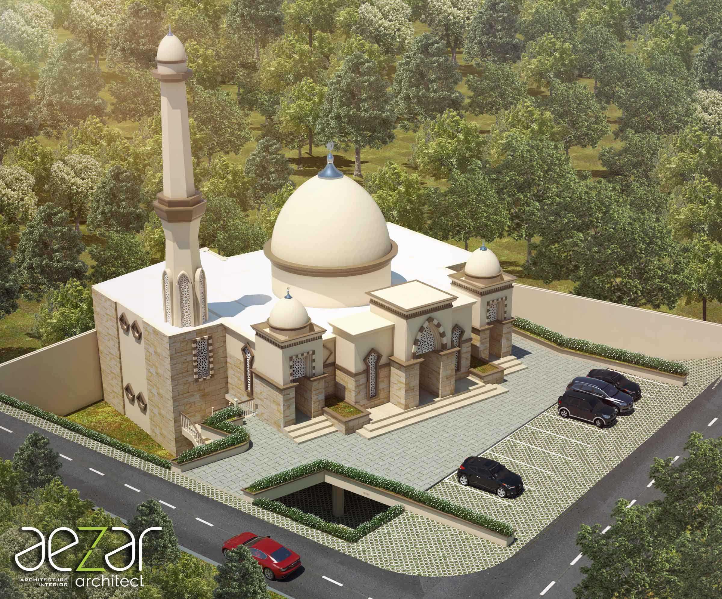 Aezar Architect Baitussalam Mosque Kabupaten Sragen, Jawa Tengah, Indonesia Kabupaten Sragen, Jawa Tengah, Indonesia Bird Eye View   54437