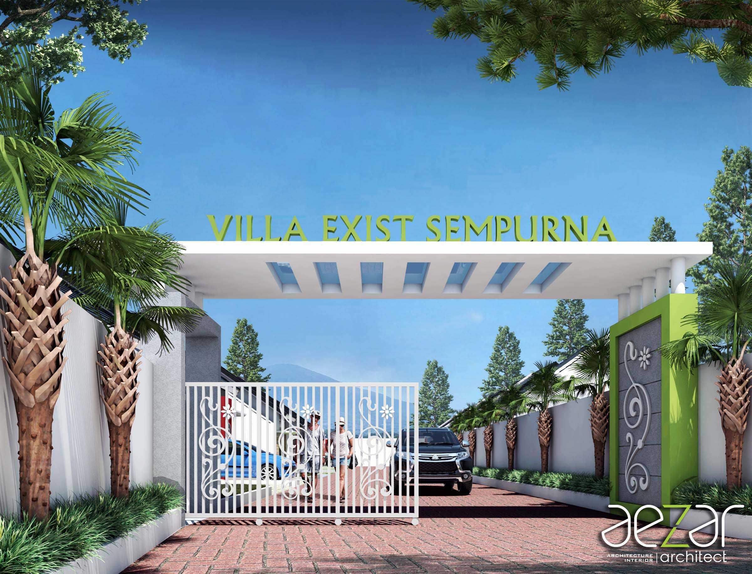Aezar Architect Perumahan Villa Exist Sempurna Kabupaten Batang, Jawa Tengah, Indonesia Kabupaten Batang, Jawa Tengah, Indonesia Entrance Area Minimalist  54481