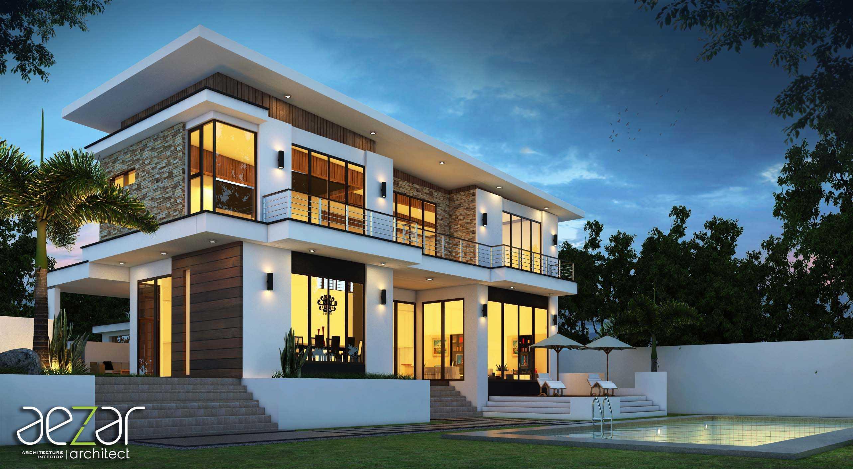 Aezar Architect Zk House Medan, Kota Medan, Sumatera Utara, Indonesia Medan, Kota Medan, Sumatera Utara, Indonesia Exterior View   54458