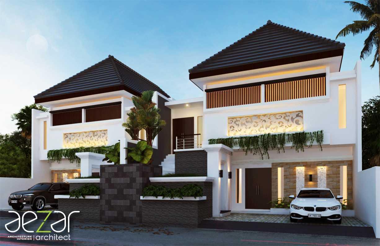 Aezar Architect Manik Private Villa's Gianyar, Kec. Gianyar, Kabupaten Gianyar, Bali, Indonesia Gianyar, Kec. Gianyar, Kabupaten Gianyar, Bali, Indonesia Exterior View Tropical  54378