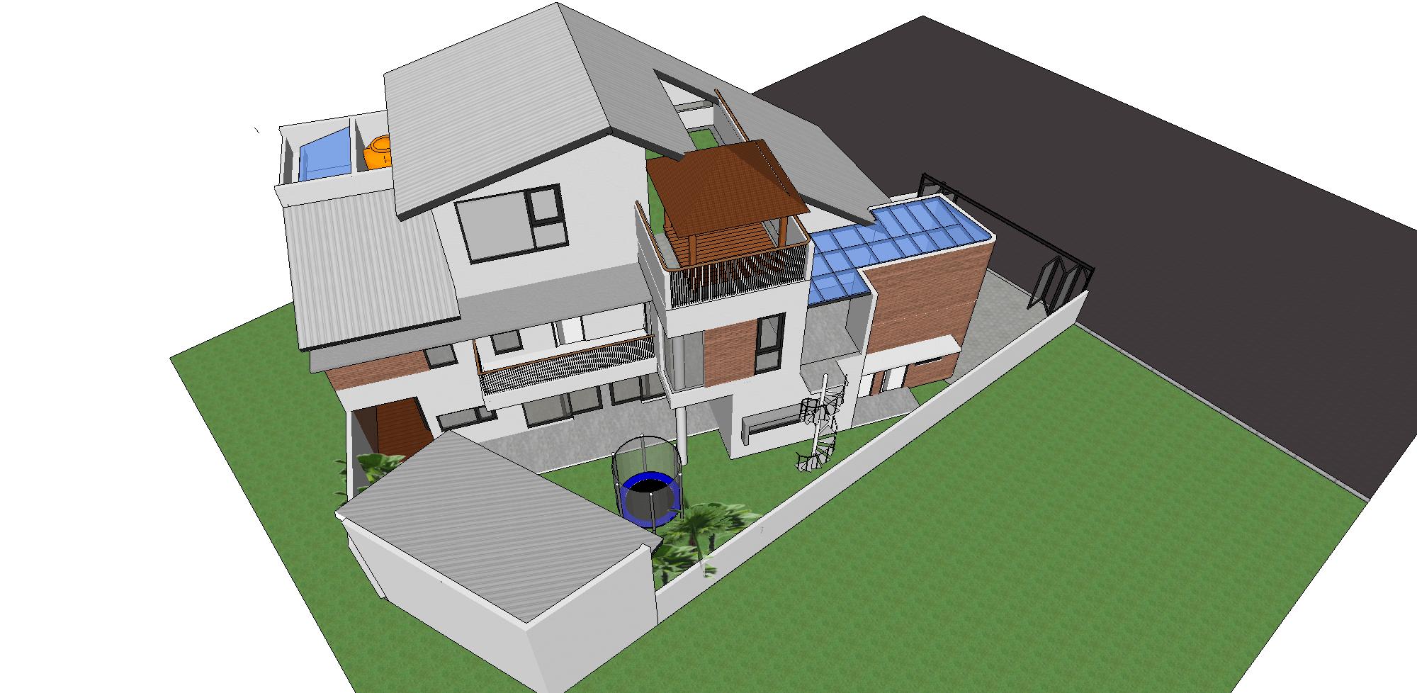 Zigzag Architecture Studio I House - Serpong Garden Cisauk, Tangerang, Banten, Indonesia Cisauk, Tangerang, Banten, Indonesia Zigzag-Architecture-Studio-I-House-Serpong-Garden   56166