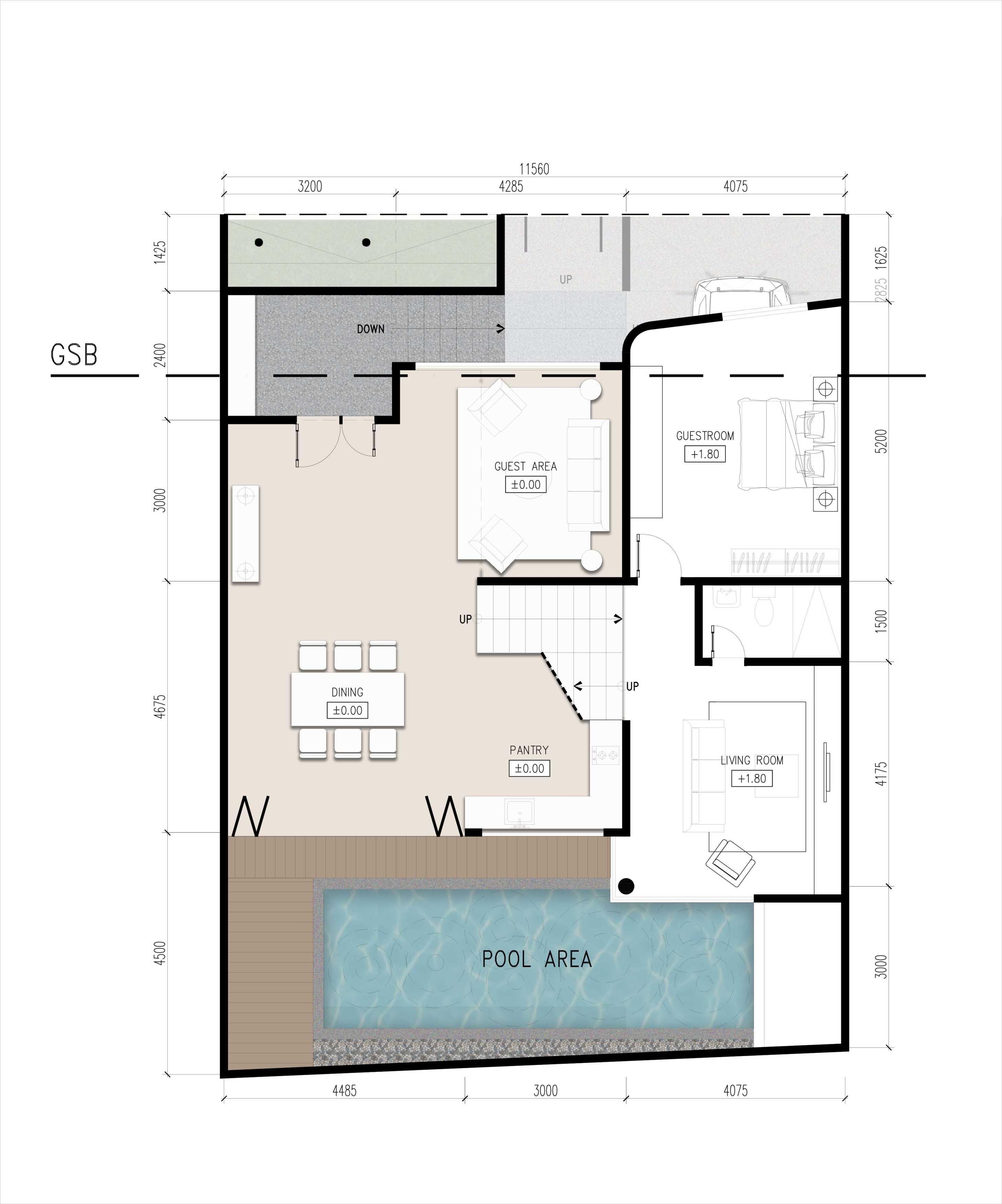 Zigzag Architecture Studio F House Cipinang, Pulo Gadung, Kota Jakarta Timur, Daerah Khusus Ibukota Jakarta, Indonesia Cipinang, Pulo Gadung, Kota Jakarta Timur, Daerah Khusus Ibukota Jakarta, Indonesia Zigzag-Architecture-Studio-F-House   56836