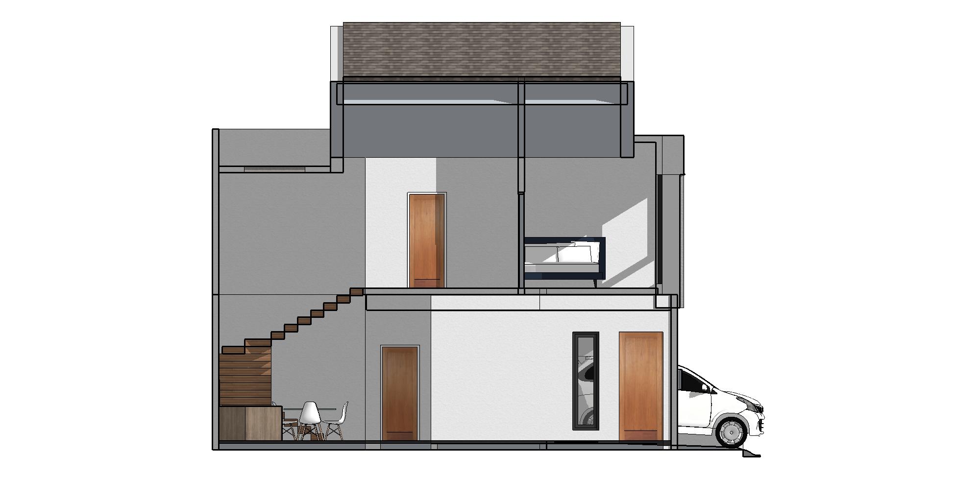 Zigzag Architecture Studio C House - Karawaci Karawaci, Kota Tangerang, Banten, Indonesia Karawaci, Kota Tangerang, Banten, Indonesia Zigzag-Architecture-Studio-C-House-Karawaci   59734